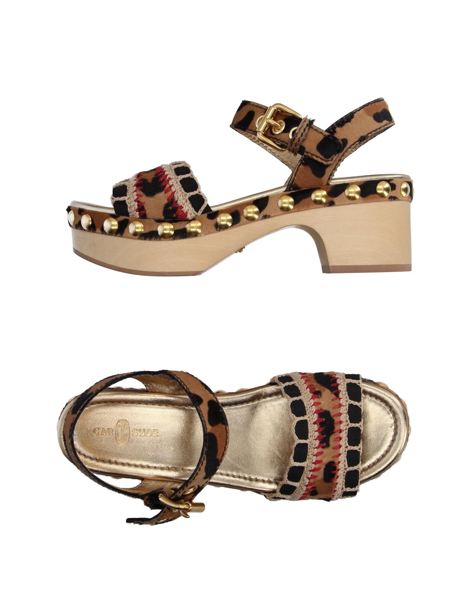 Stilvolle Damen billige Schuhe Carshoe Sandalen Damen Stilvolle  11099463JF 5a6566