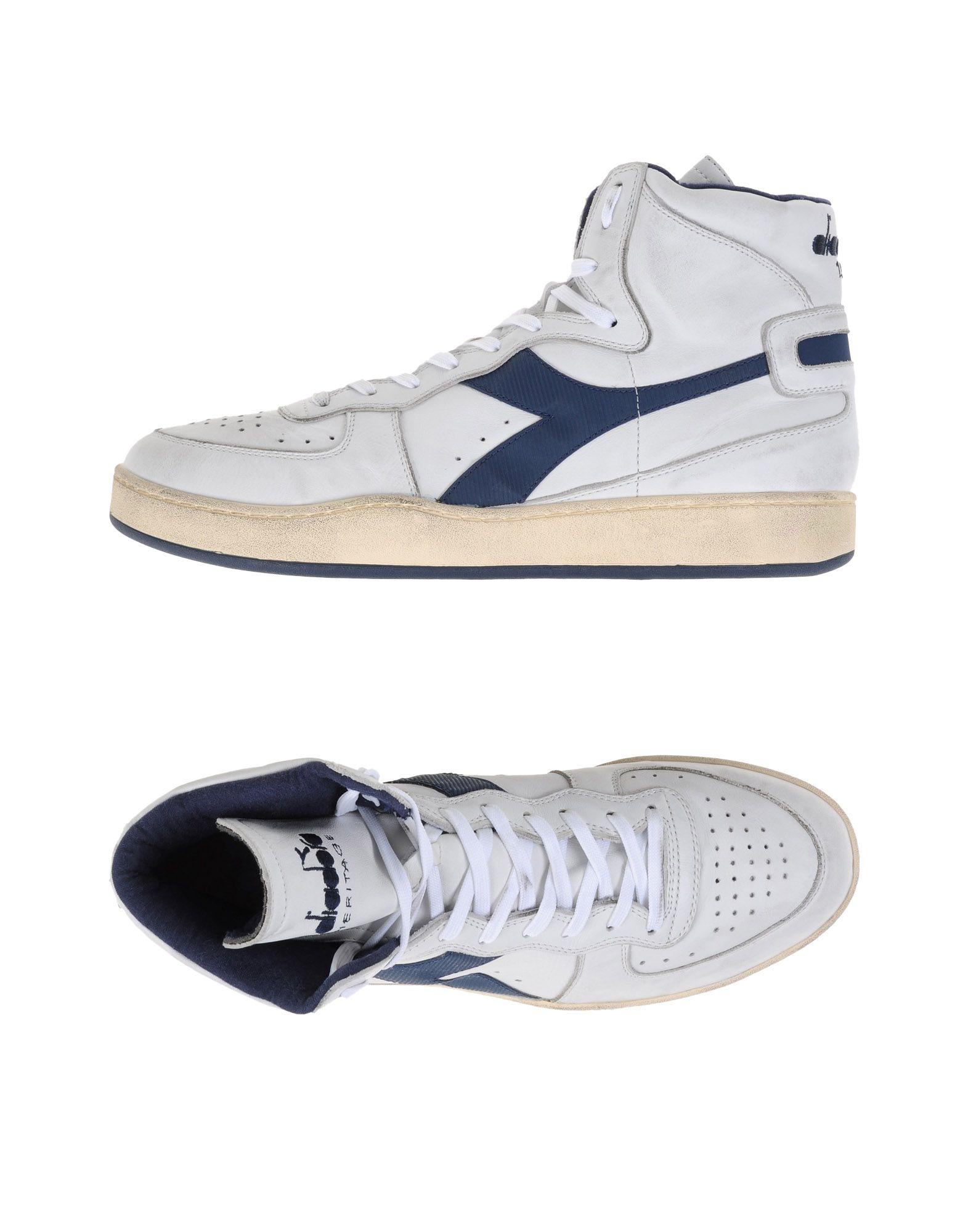 Sneakers Diadora Heritage Mi Basket Used - Homme - Sneakers Diadora Heritage sur