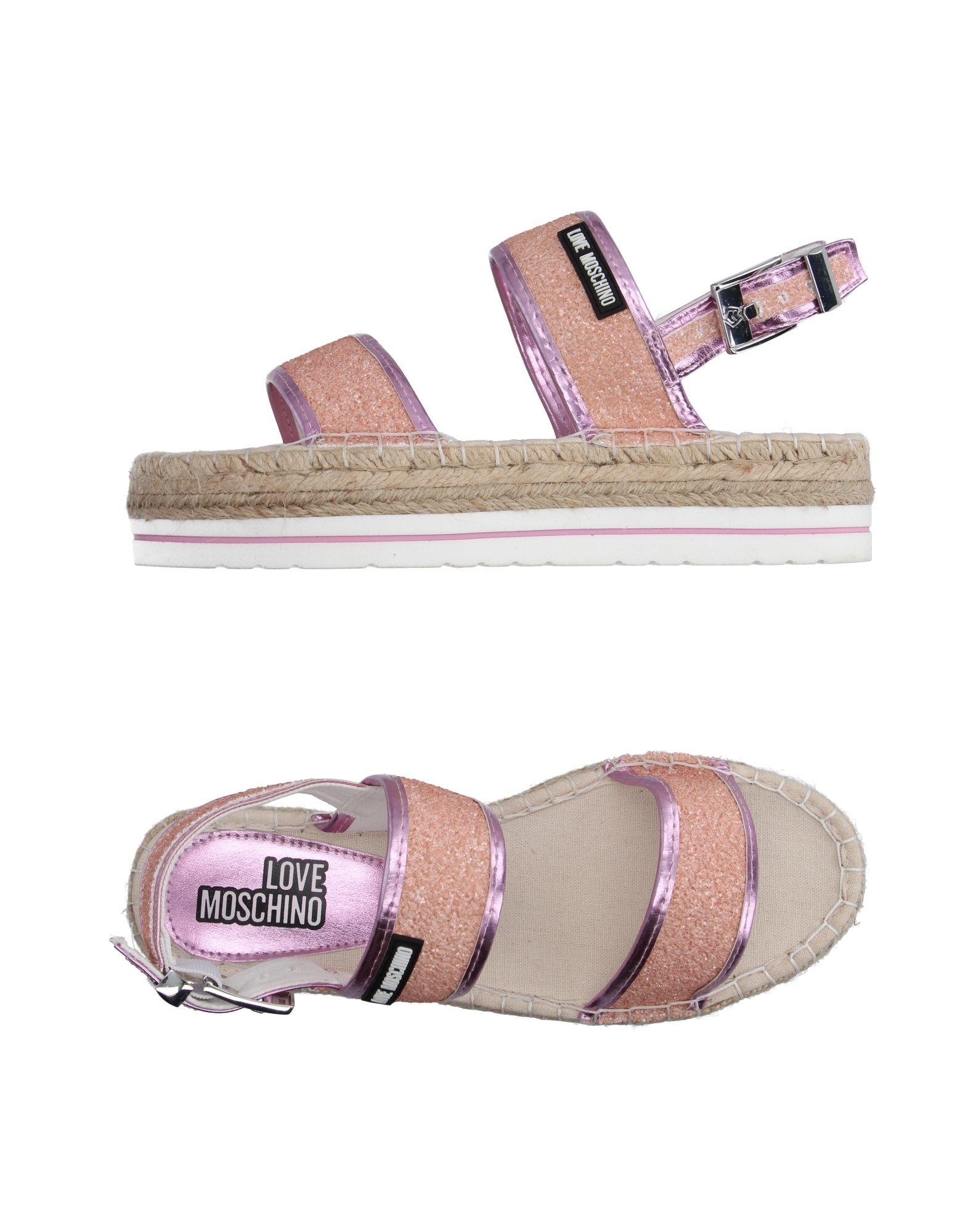 Love Moschino Espadrilles Damen  11101279UG Gute Qualität beliebte Schuhe