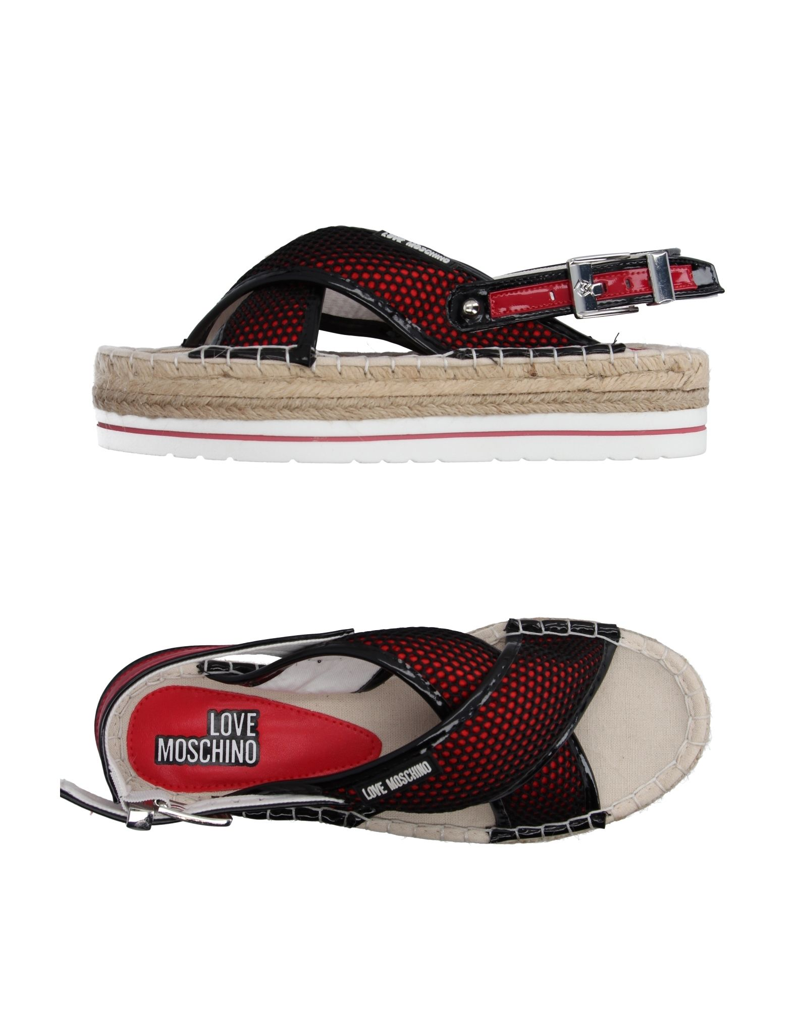 Gut um billige Schuhe zu tragenLove Moschino Espadrilles Damen    11101291JT 83a904