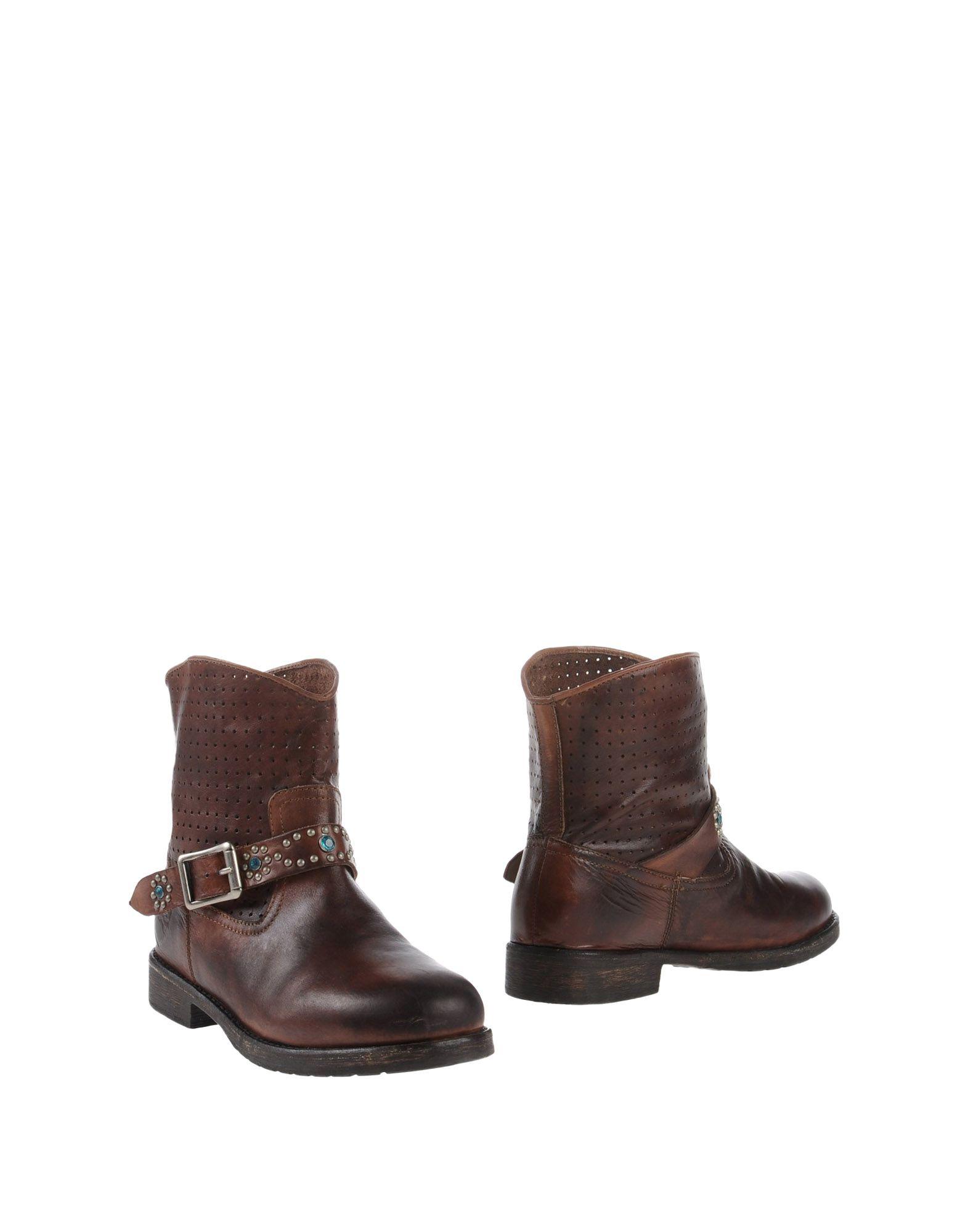 Stilvolle billige Schuhe Mr. Wolf Stiefelette Damen  11102025QD
