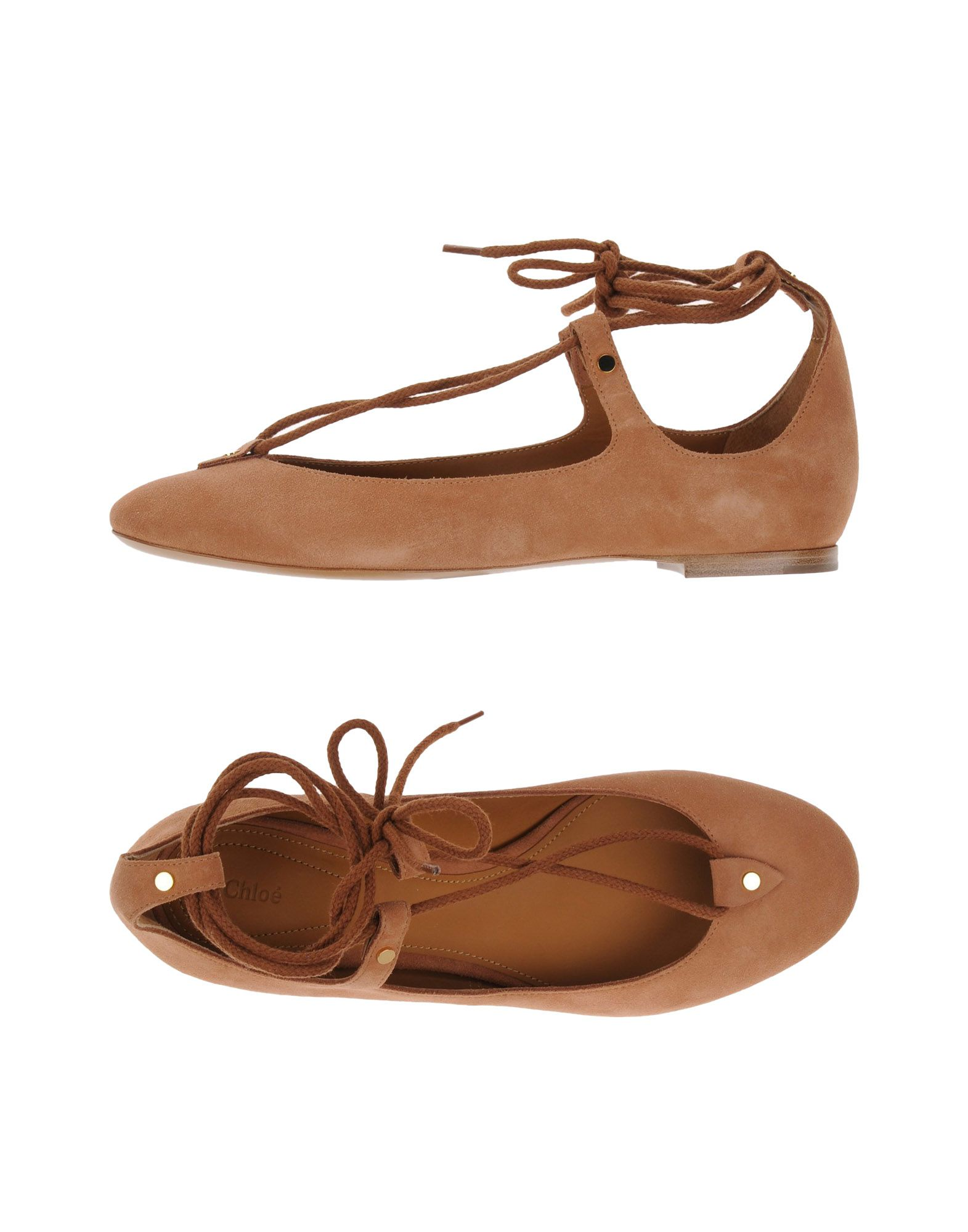 Rabatt Schuhe Chloé Ballerinas Damen  11102923XE