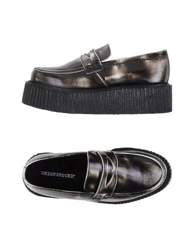 UNDERGROUND Loafers in Dark Brown
