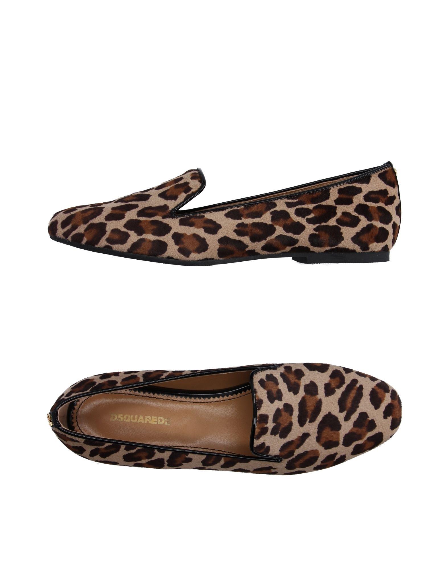 Haltbare Mode billige Schuhe Dsquared2 Mokassins Damen  11104036LX Heiße Schuhe