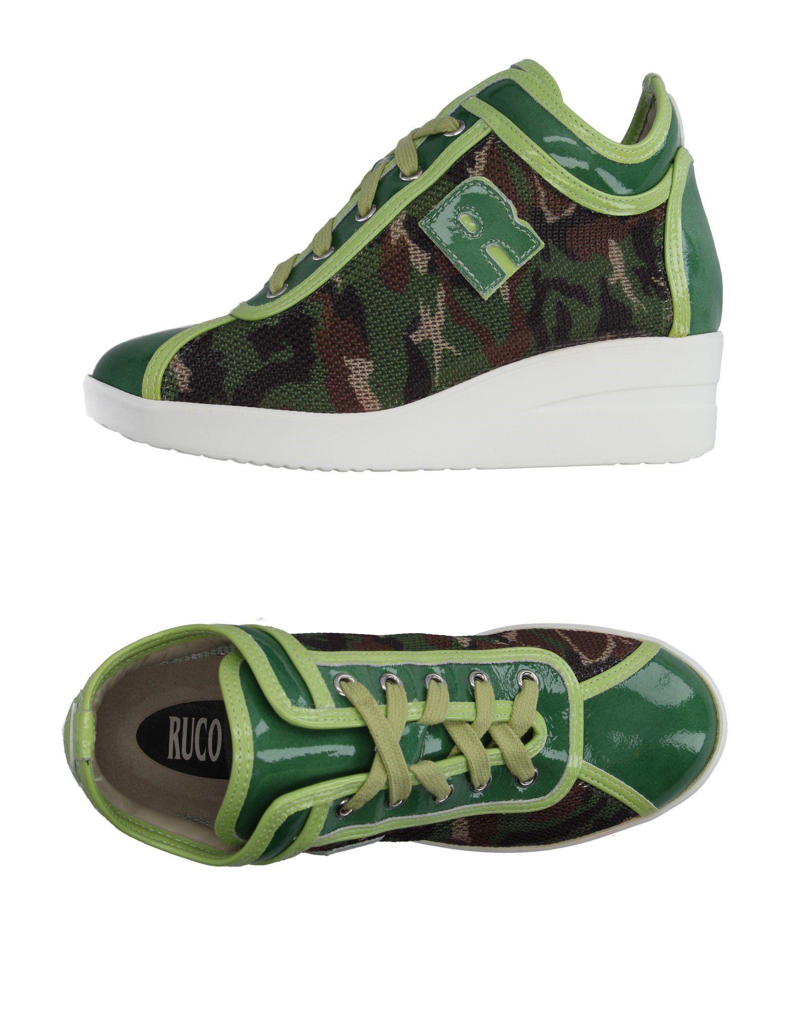 Zapatillas Ruco Line Mujer - - Mujer Zapatillas Ruco Line  Verde militar b88a9d