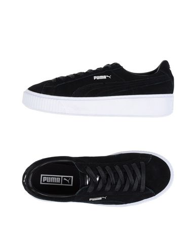 puma sneakers schwarz rot