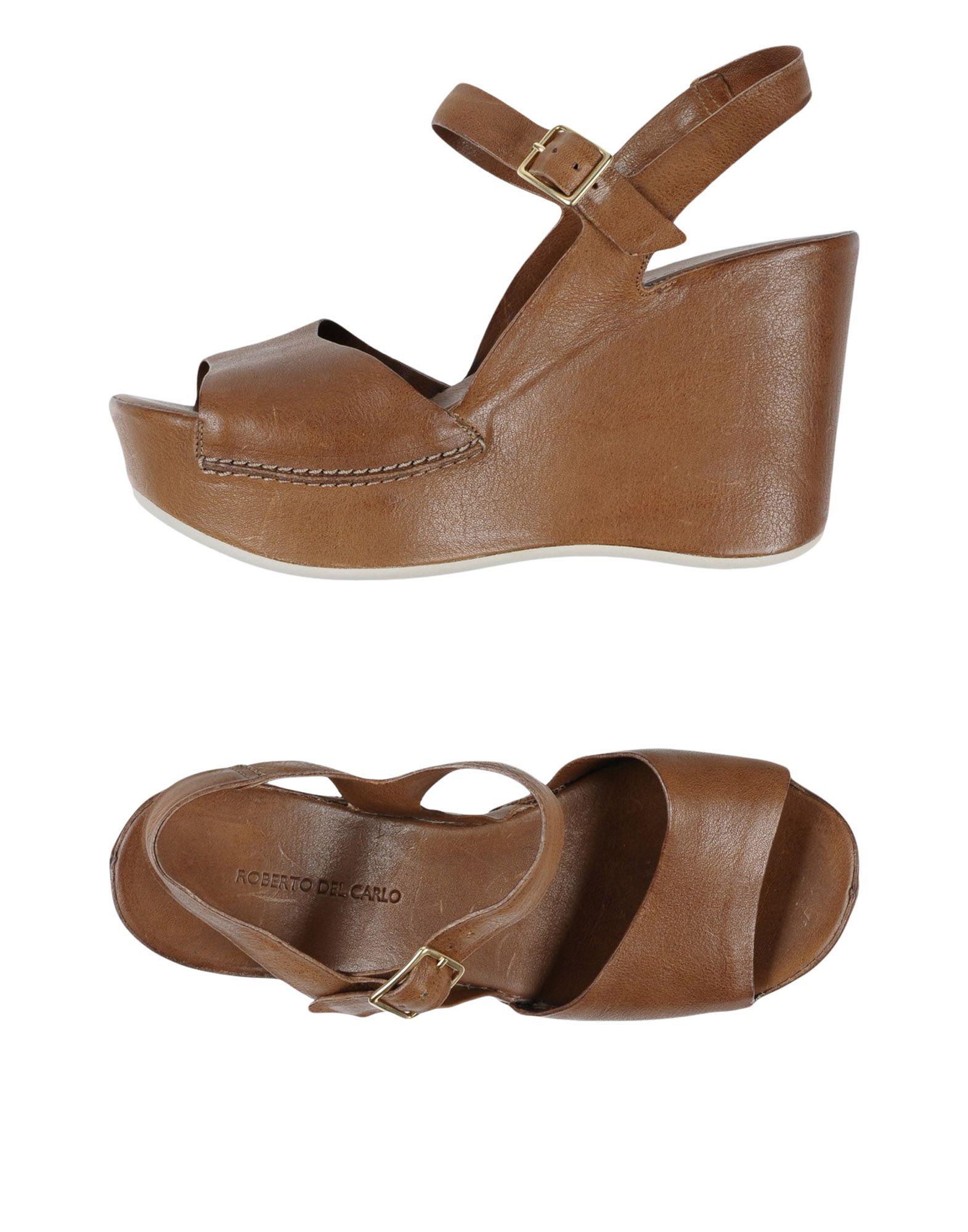 Stilvolle billige Schuhe Roberto Del Carlo Sandalen Damen  11105590HG
