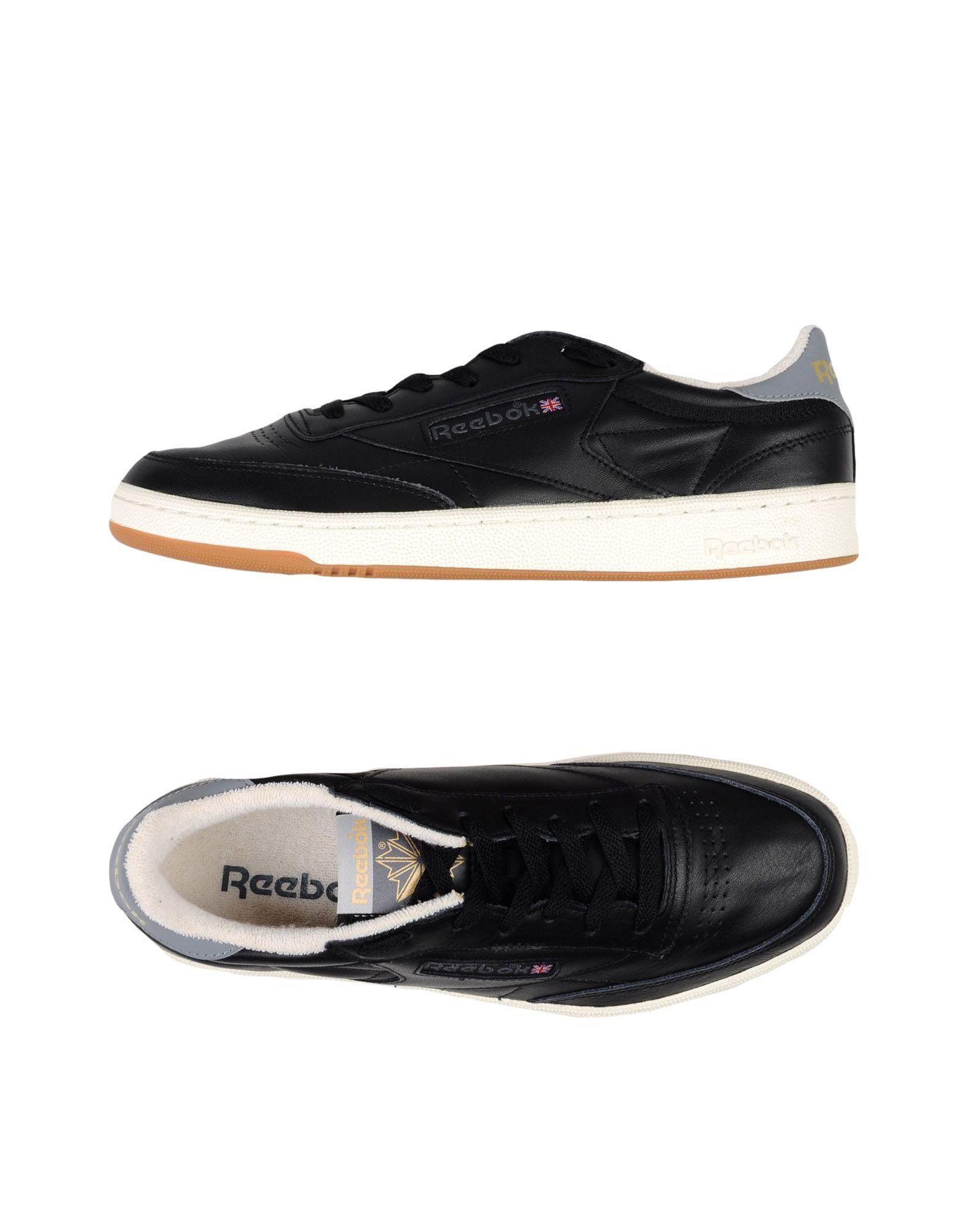 Sneakers Reebok Club C 85 Retro Gum - Homme - Sneakers Reebok  Noir Spécial temps limité