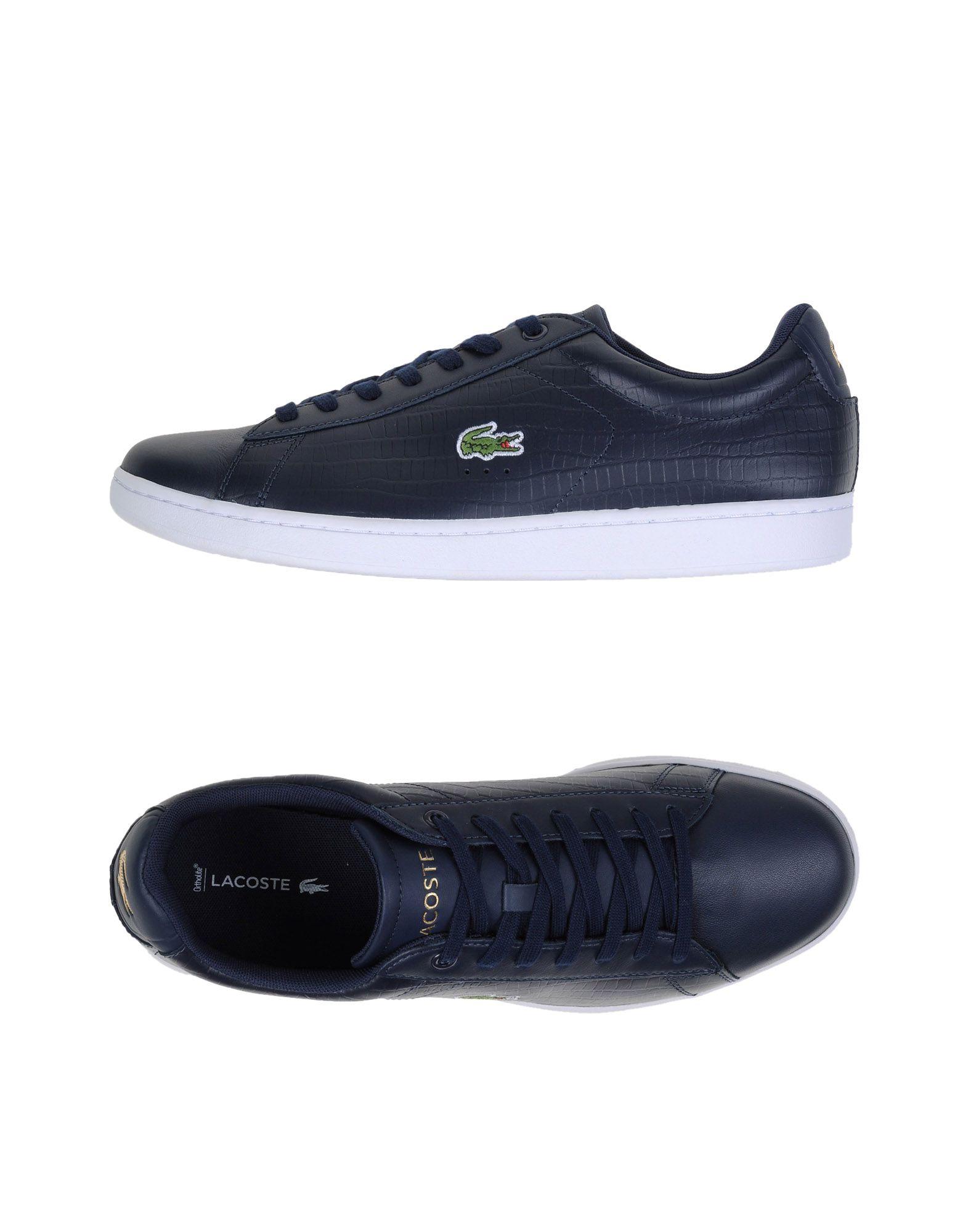Sneakers Lacoste Carnaby Evo G316 5 - Homme - Sneakers Lacoste  Bleu foncé Dernières chaussures discount pour hommes et femmes