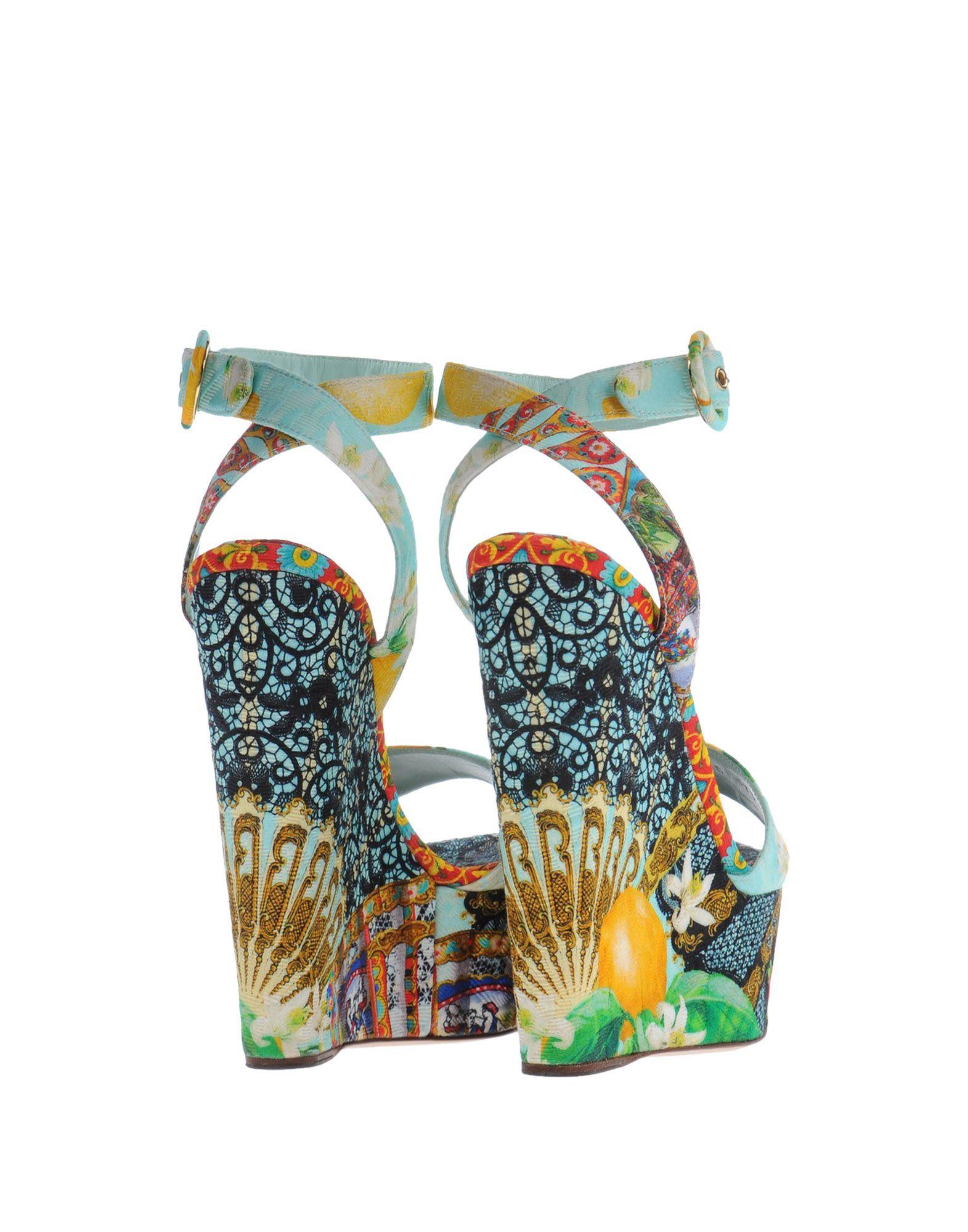 Rabatt Sandalen Schuhe Dolce & Gabbana Sandalen Rabatt Damen  11107537LB ec86b3