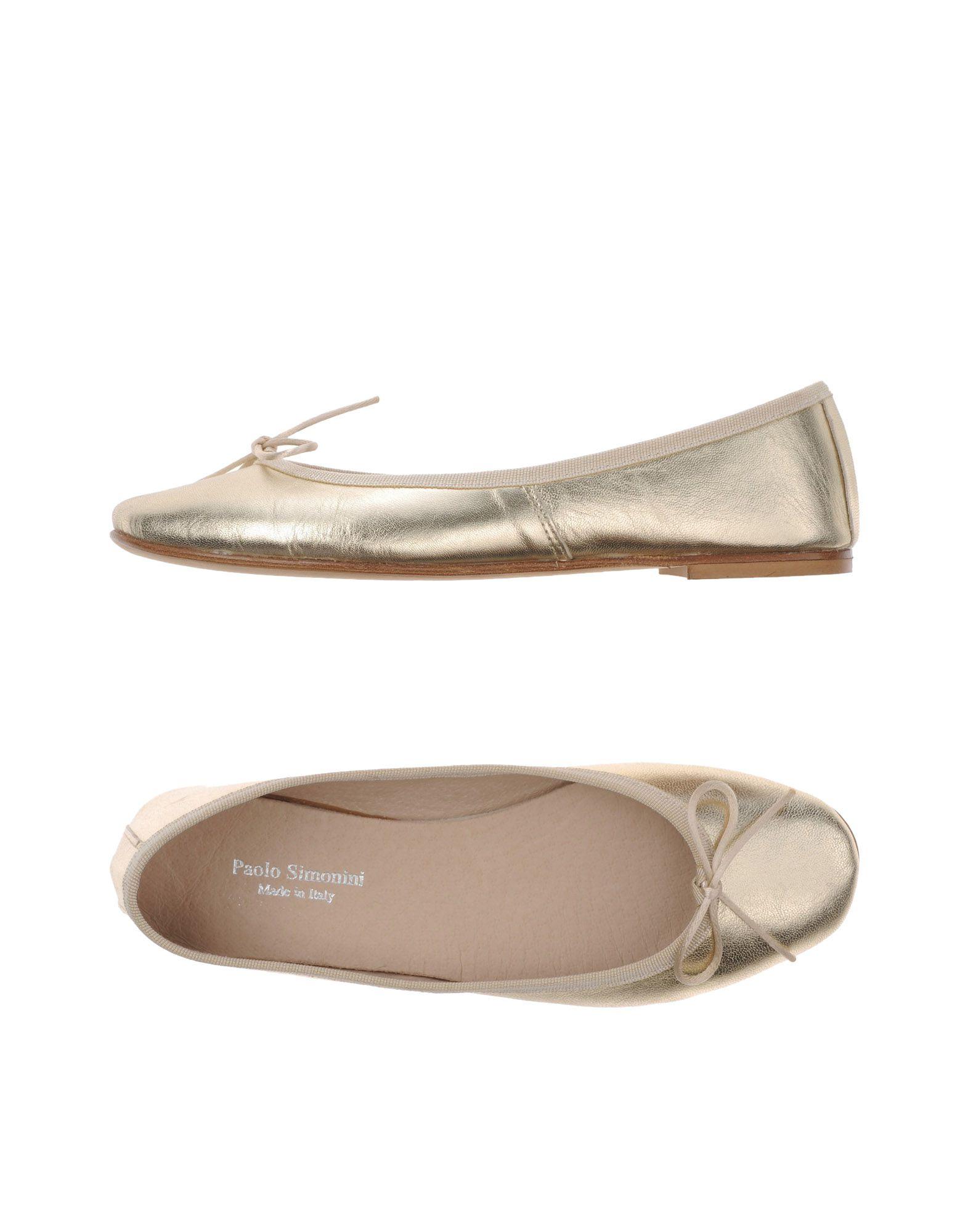 Paolo Simonini Ballerinas Damen  11107659PT Gute Qualität beliebte Schuhe