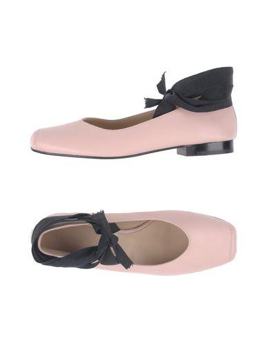 LUCA VALENTINI Ballet Flats in Light Pink