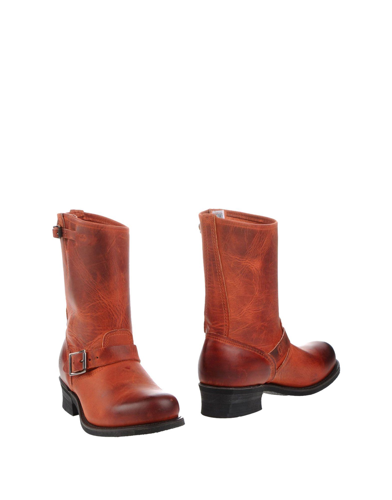Frye aussehende Stiefelette Damen  11108676PWGut aussehende Frye strapazierfähige Schuhe 1a6133