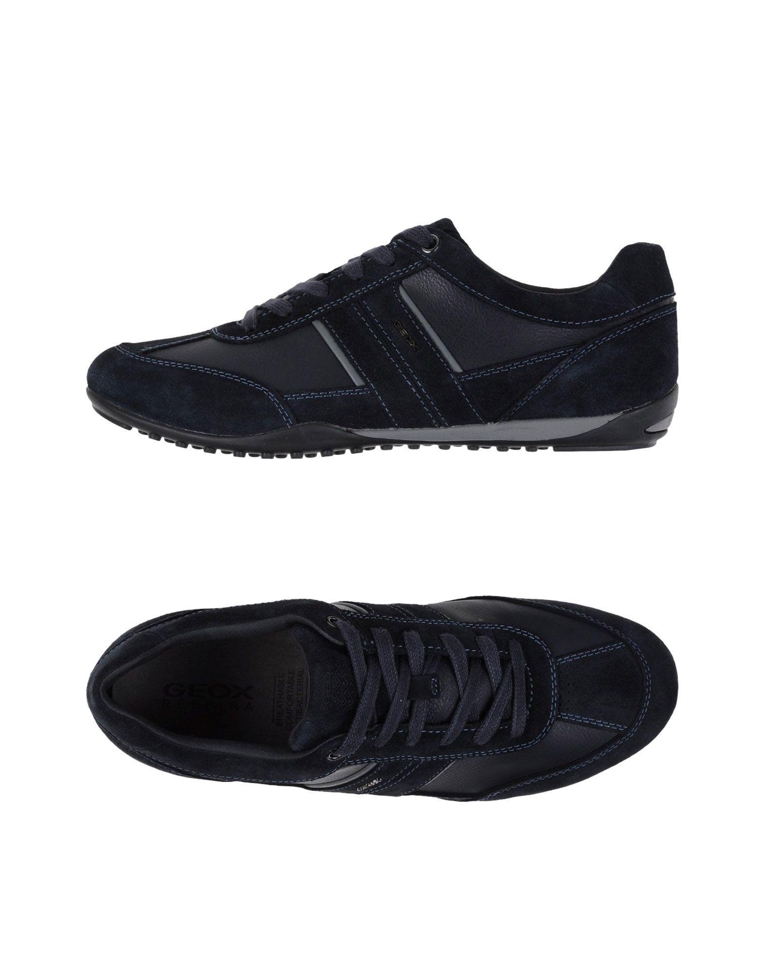 Sneakers Geox Homme - Sneakers Geox  Bleu foncé Dernières chaussures discount pour hommes et femmes