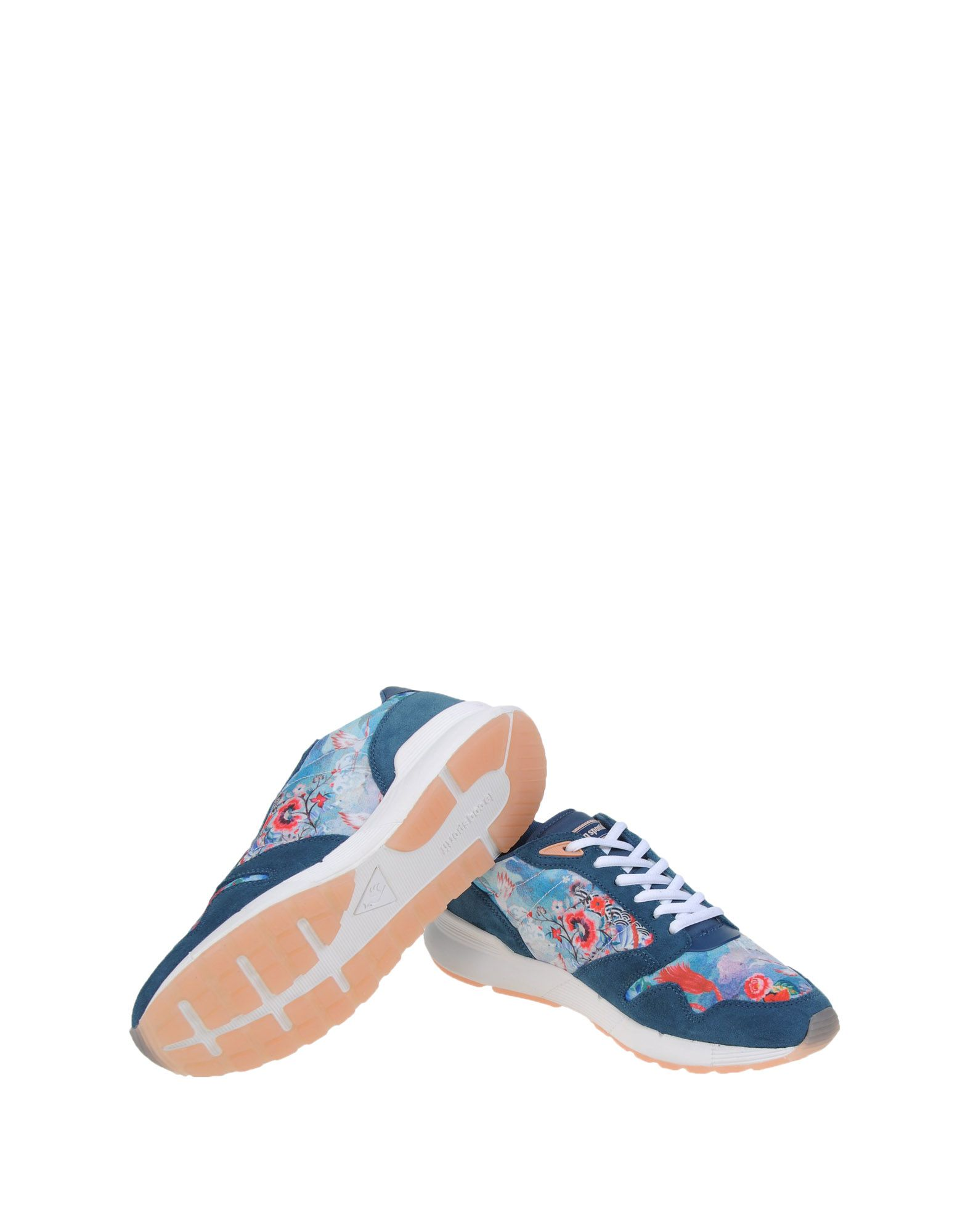 Sneakers Le Coq Sportif Omega X W Patchwork - Femme - Sneakers Le Coq Sportif sur
