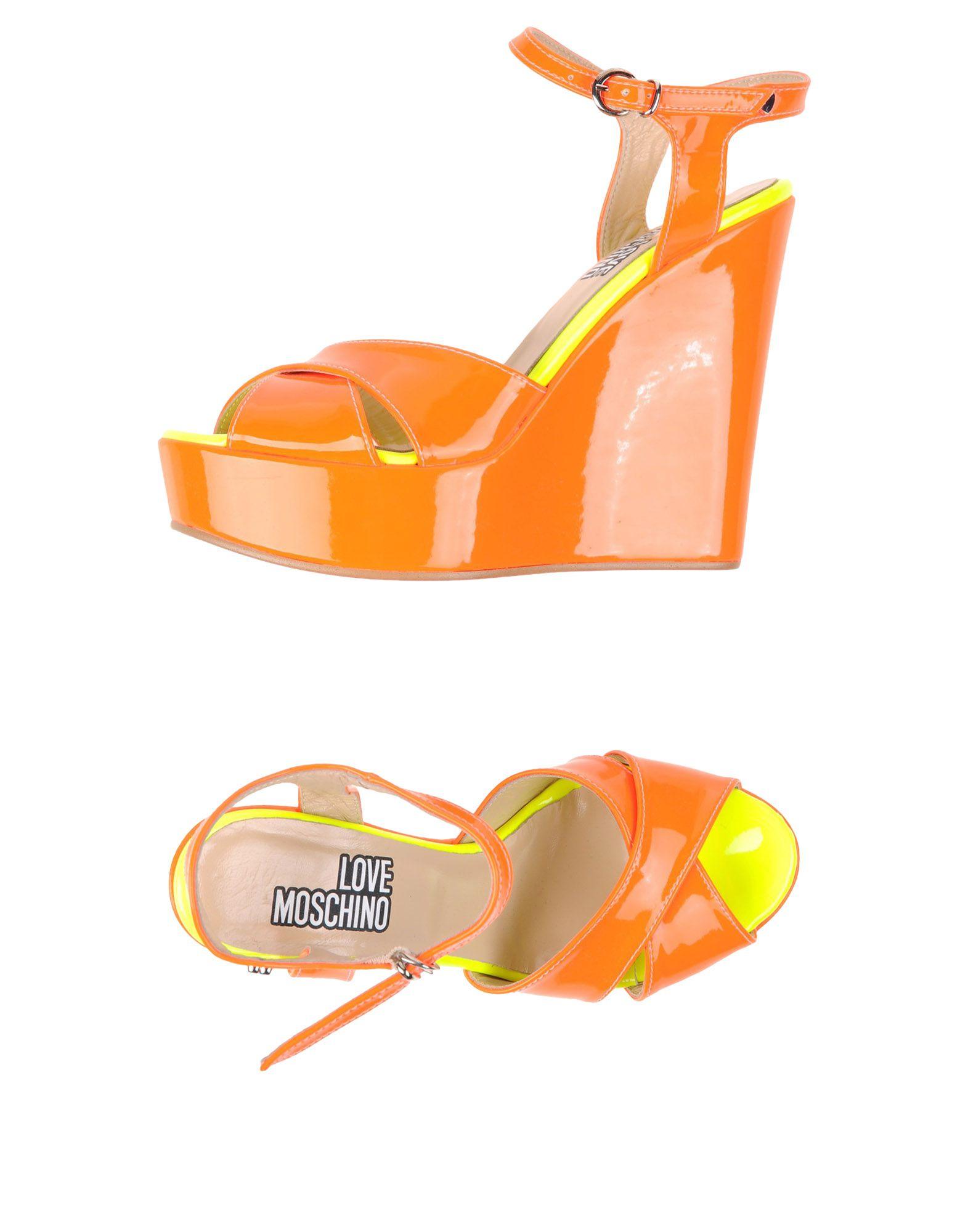 Gut um billige Schuhe  zu tragenLove Moschino Sandalen Damen  Schuhe 11113519VG 8018d4