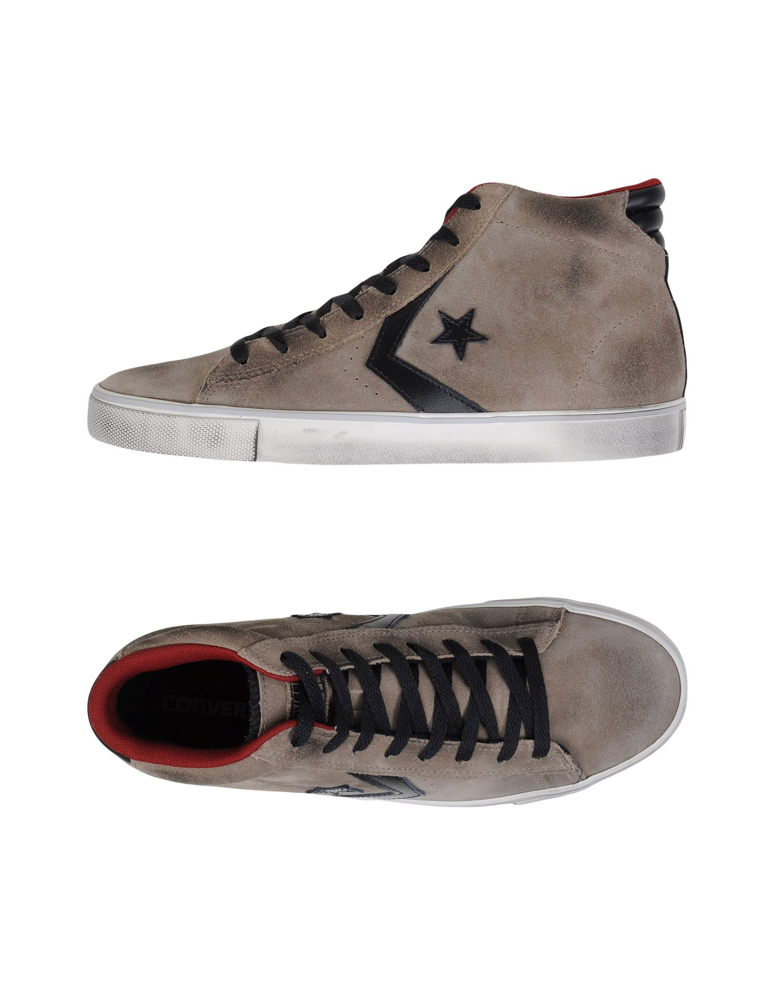 Scarpe da Ginnastica Converse Cons Pro Leather Uomo Vulc Mid Suede/Lea - Uomo Leather - 11113807CO 3b58b2