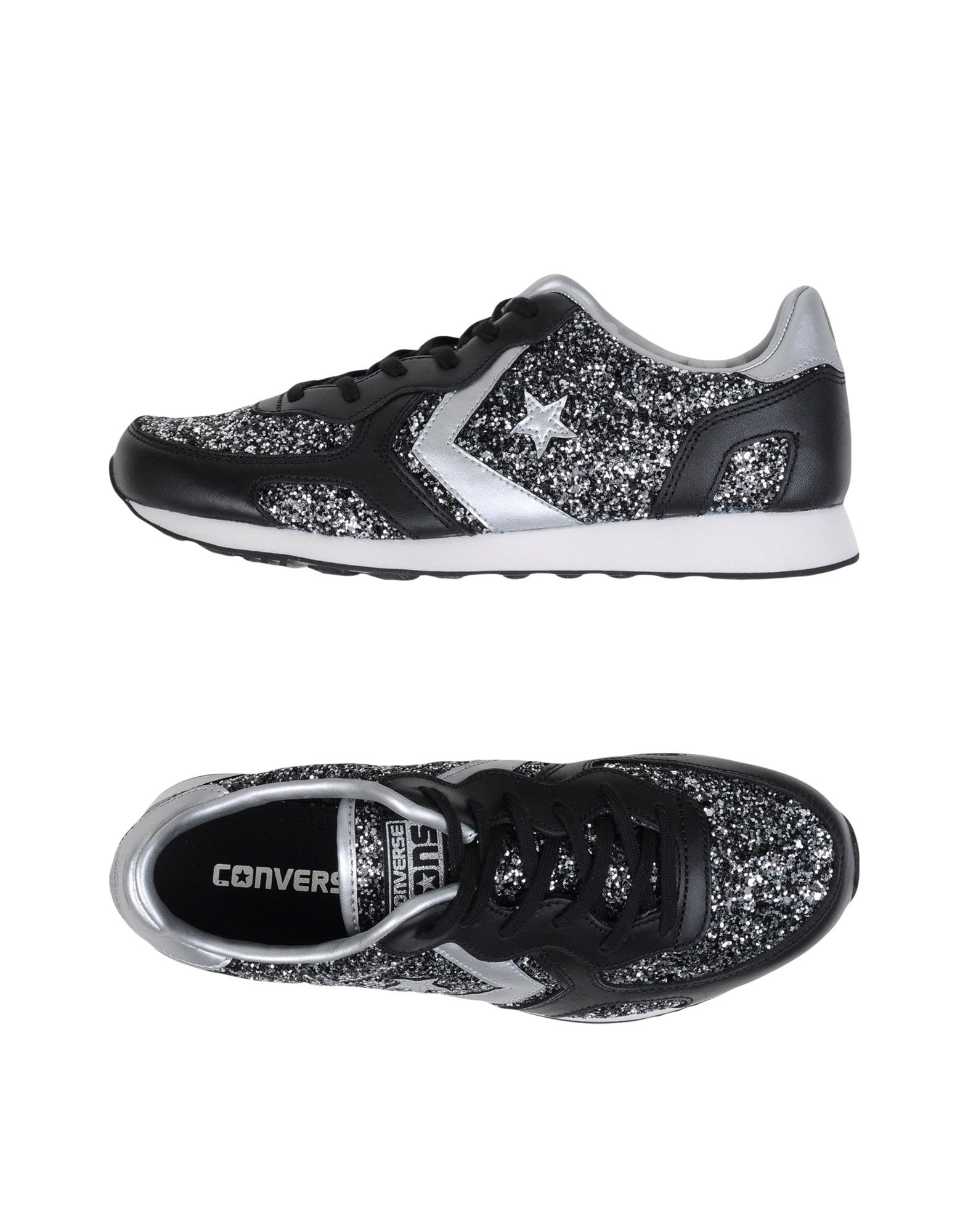 Sneakers Converse Cons Auckland Racer Ox Glitter/Leat - Femme - Sneakers Converse Cons sur