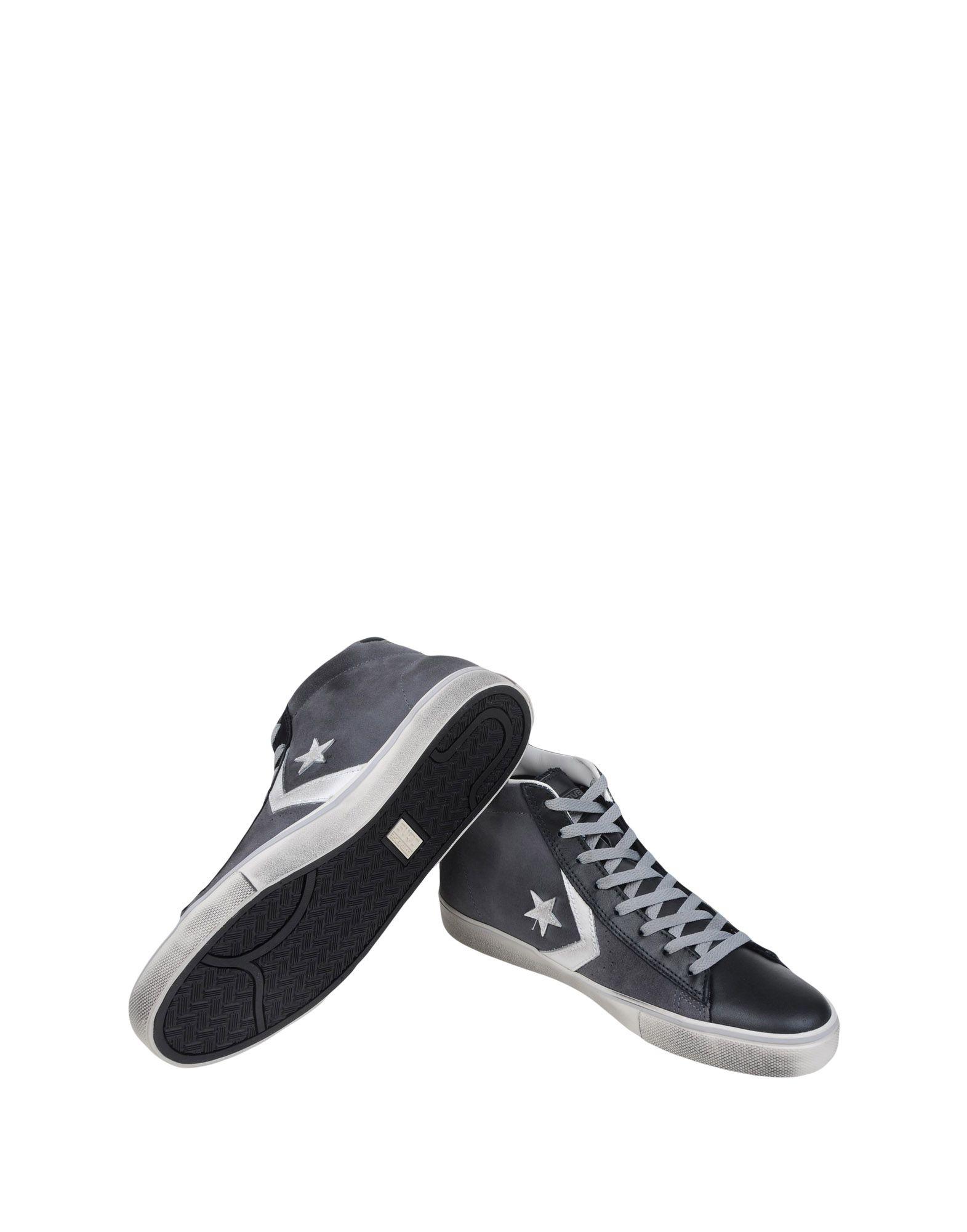 Vulc Converse Cons Pro Leather Vulc  Mid Suede/Lea  11114020FO 6dea16