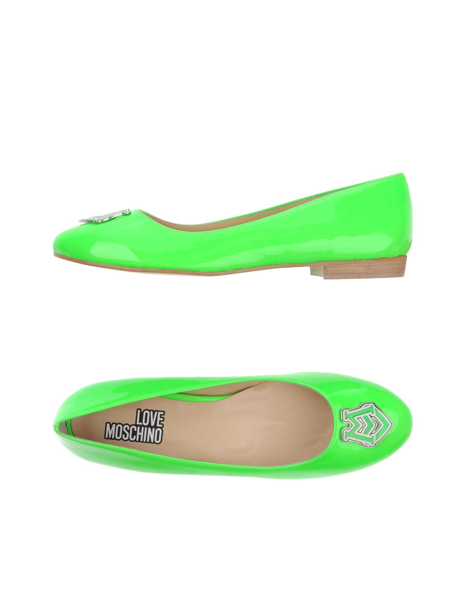 Love Moschino Ballerinas Damen  Schuhe 11114050OQ Gute Qualität beliebte Schuhe  f6ba5b