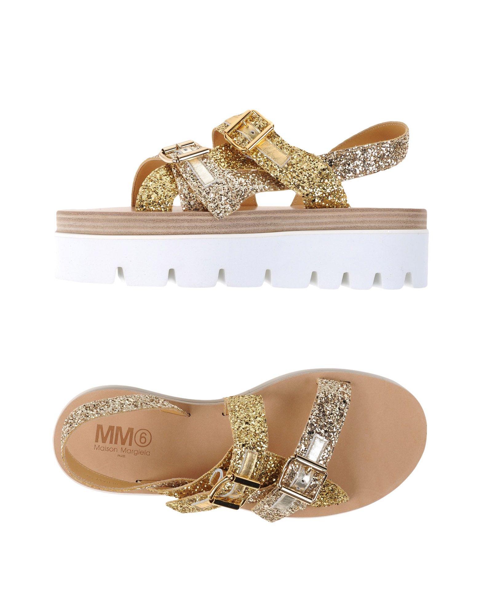 Mm6 Maison Margiela Sandalen Damen Neue  11114070EL Neue Damen Schuhe c2b17d