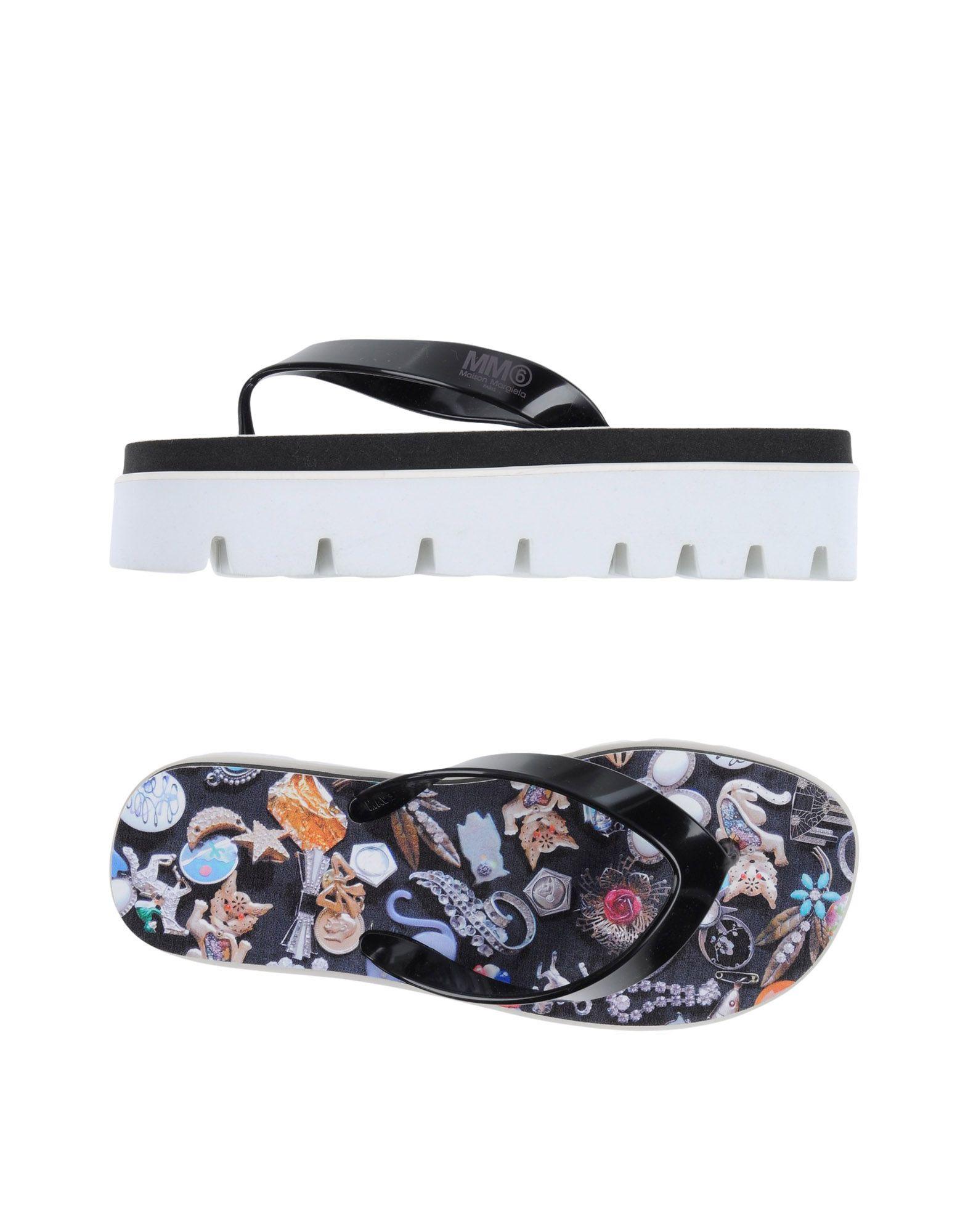 Mm6 Maison Margiela Flip Flops - Women Mm6 Maison on Margiela Flip Flops online on Maison  Australia - 11114980WC 7b9e51