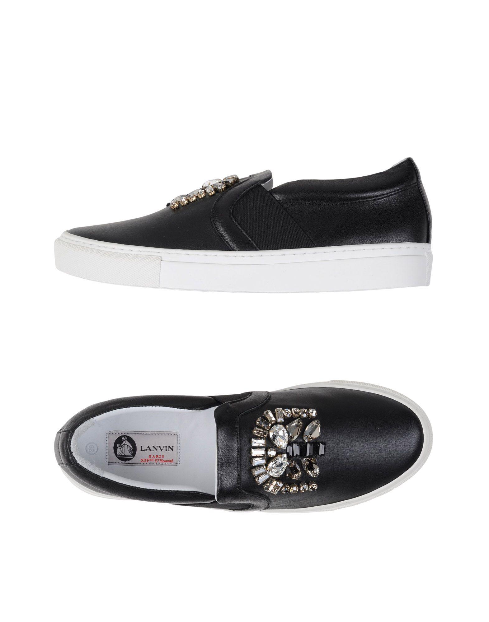 Lanvin Sneakers aussehende Damen  11115178CLGünstige gut aussehende Sneakers Schuhe ffd5f3