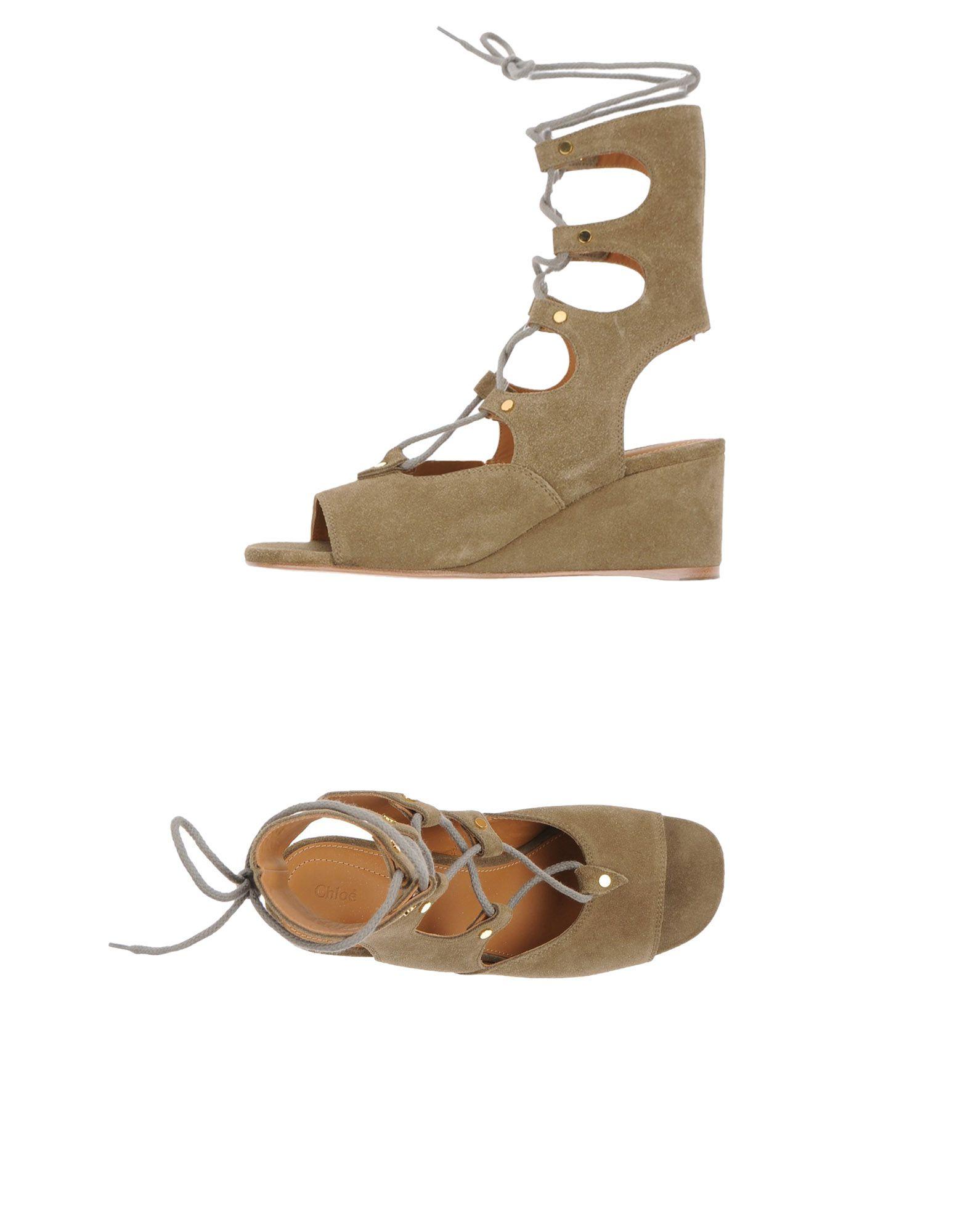 Chloé Sandalen 11115418JKGünstige Damen  11115418JKGünstige Sandalen gut aussehende Schuhe f54d8c