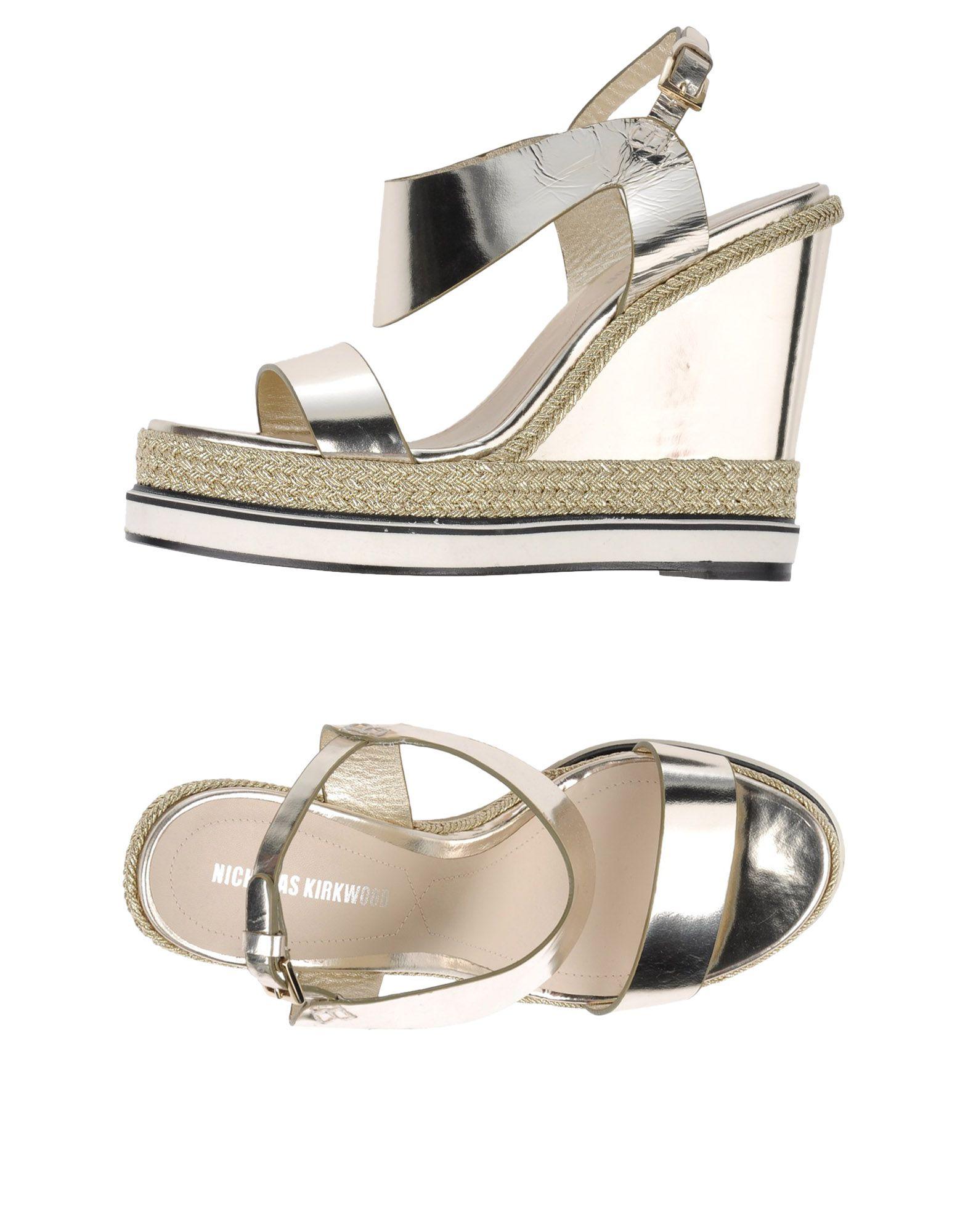 Rabatt Schuhe Nicholas Kirkwood Sandalen Damen  11116767HQ