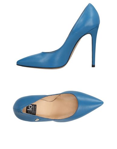 Islo Bleu Pétrole Escarpins Isabella Lorusso aRHaySB6