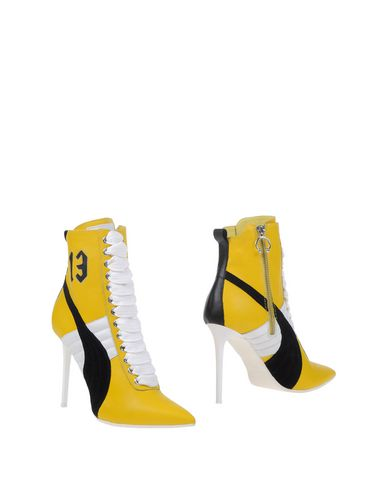 fenty puma yellow heels