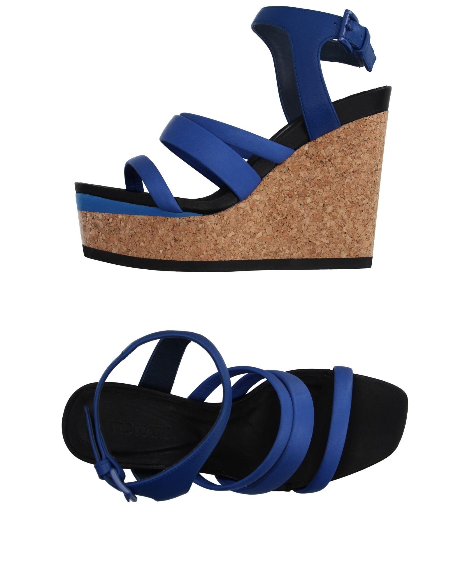 Stilvolle Sandalen billige Schuhe Vic Matiē Sandalen Stilvolle Damen  11118544BL 511afe