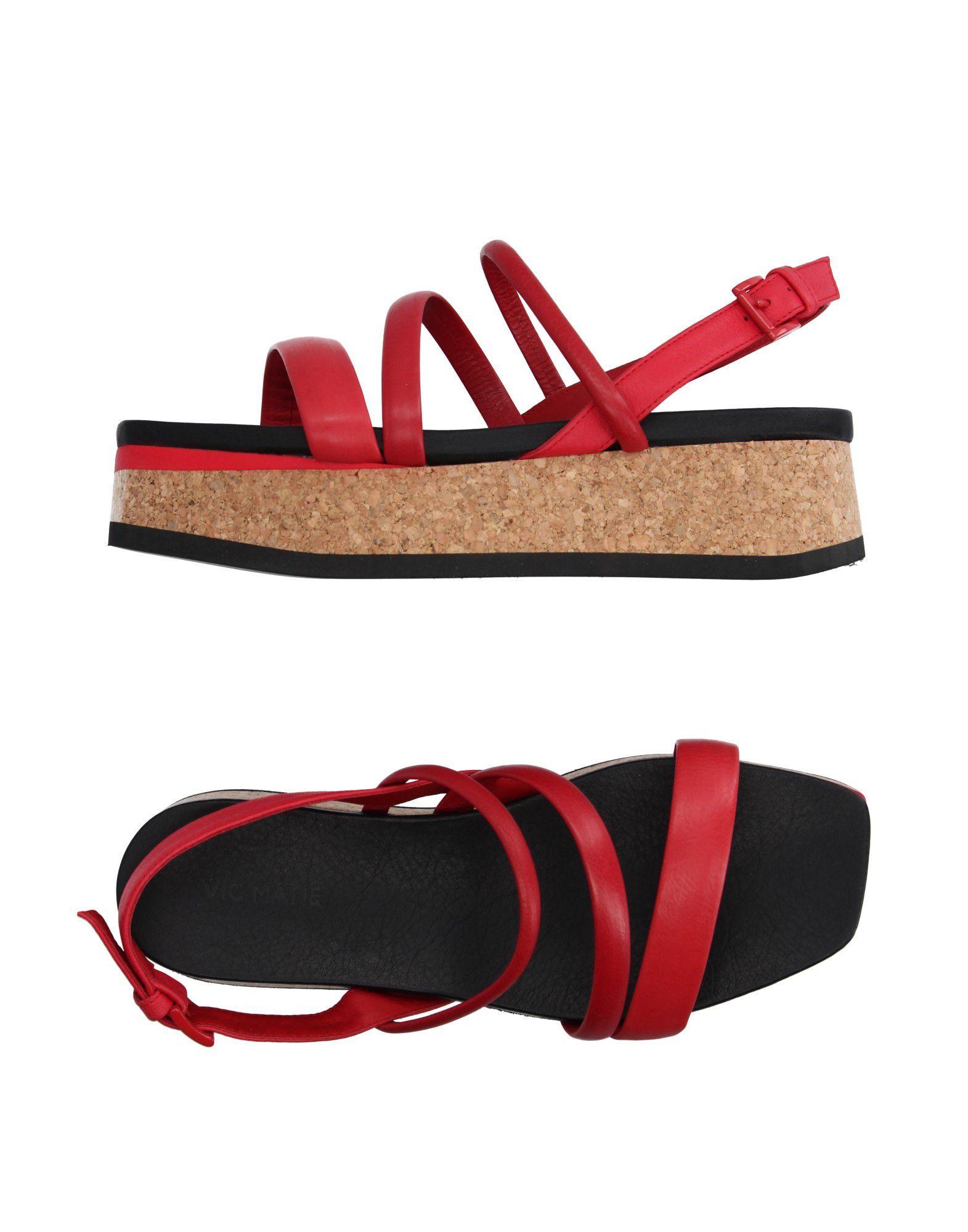 Stilvolle billige Schuhe Vic Matiē Sandalen Damen  11118825GS
