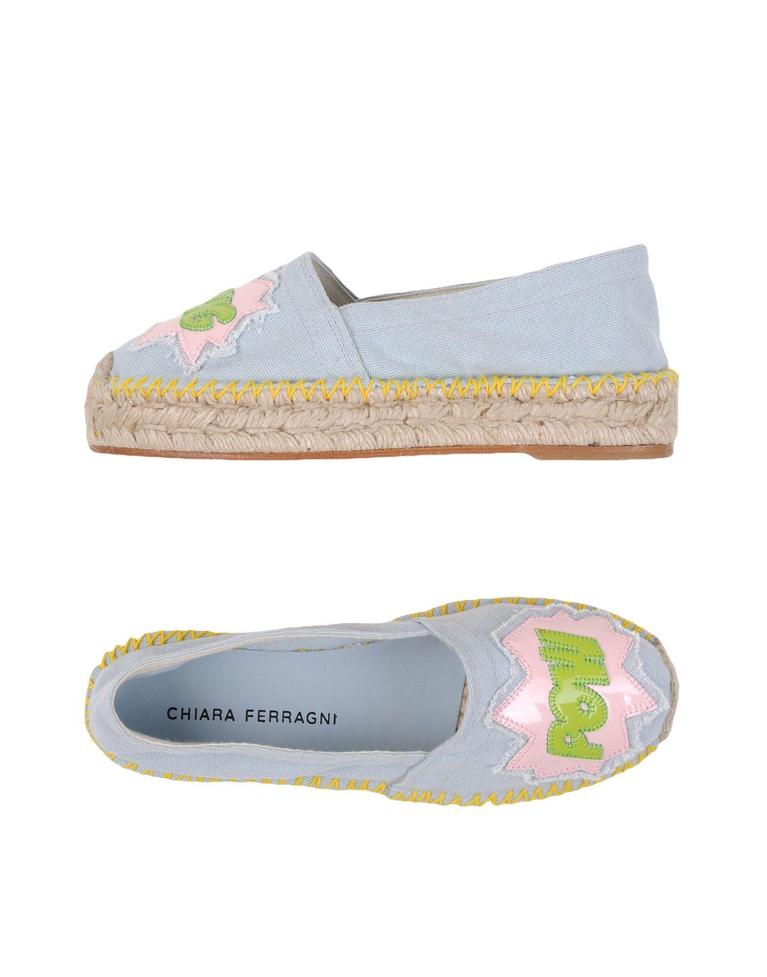 Stilvolle billige Schuhe Chiara Ferragni Espadrilles Espadrilles Espadrilles Damen  11118895UK fed781