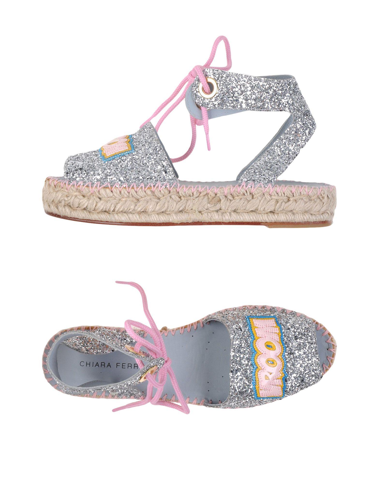 Stilvolle billige Schuhe Chiara Ferragni Espadrilles Damen  11118899AP