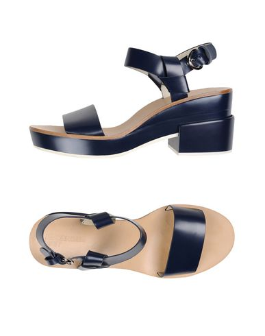 c04d35325b462 Jil Sander Navy Sandals - Women Jil Sander Navy Sandals online on ...