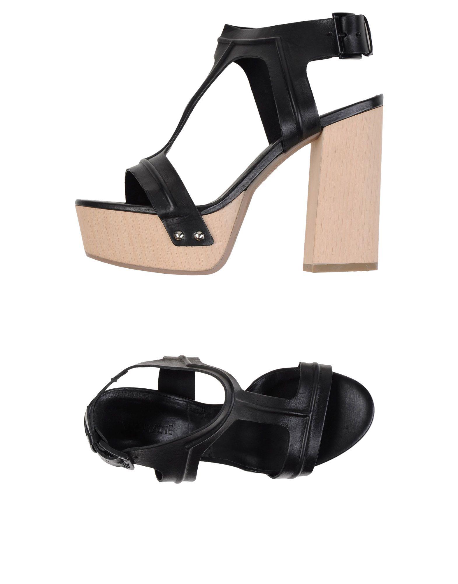 Stilvolle billige Schuhe Vic Matiē Sandalen Damen  11119557AQ