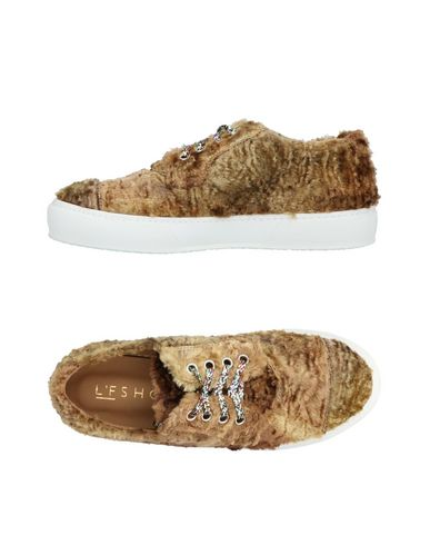 L'F SHOES Sneakers in Camel