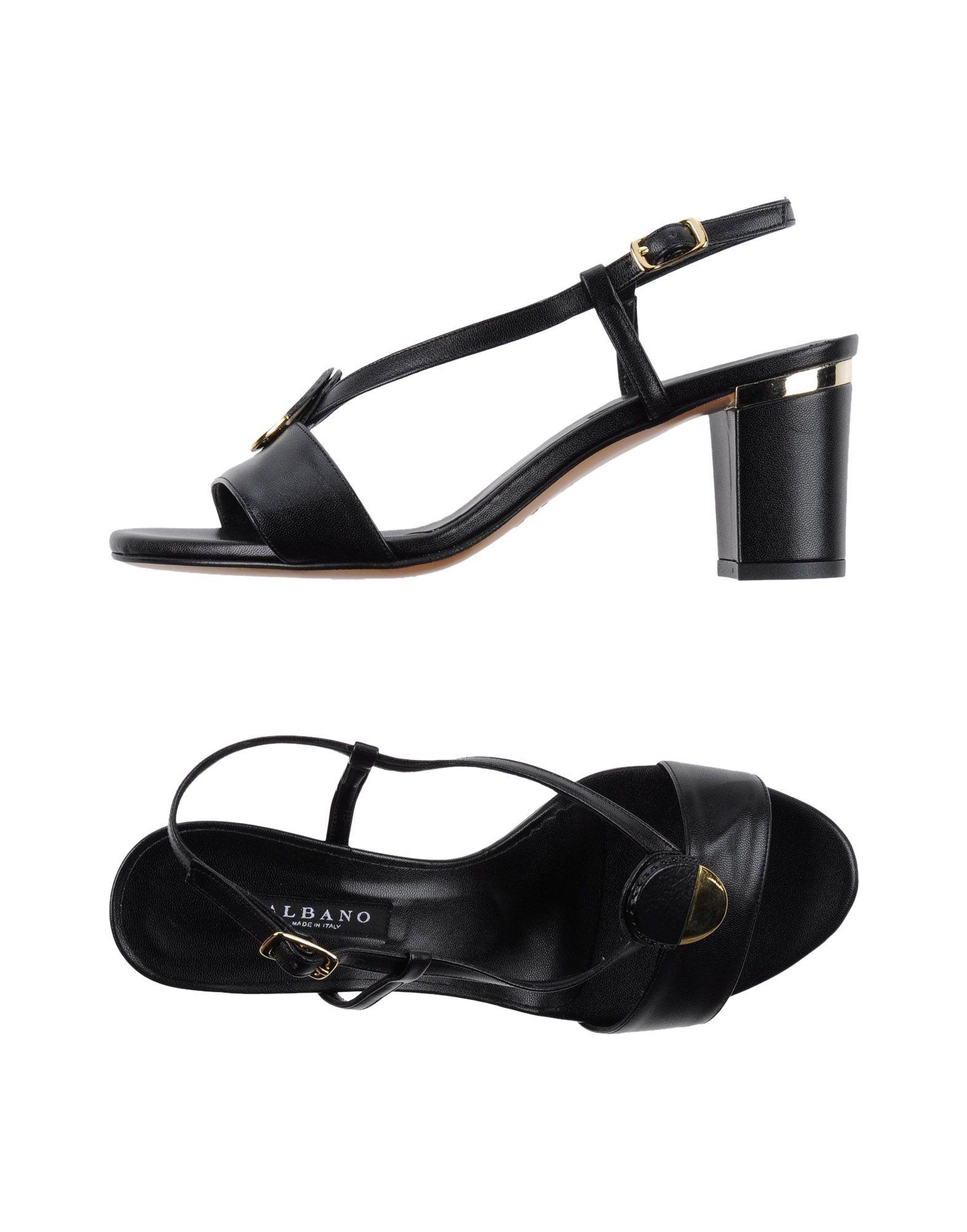 Haltbare Mode billige Schuhe Albano Sandalen Damen  11122121BL Heiße Schuhe