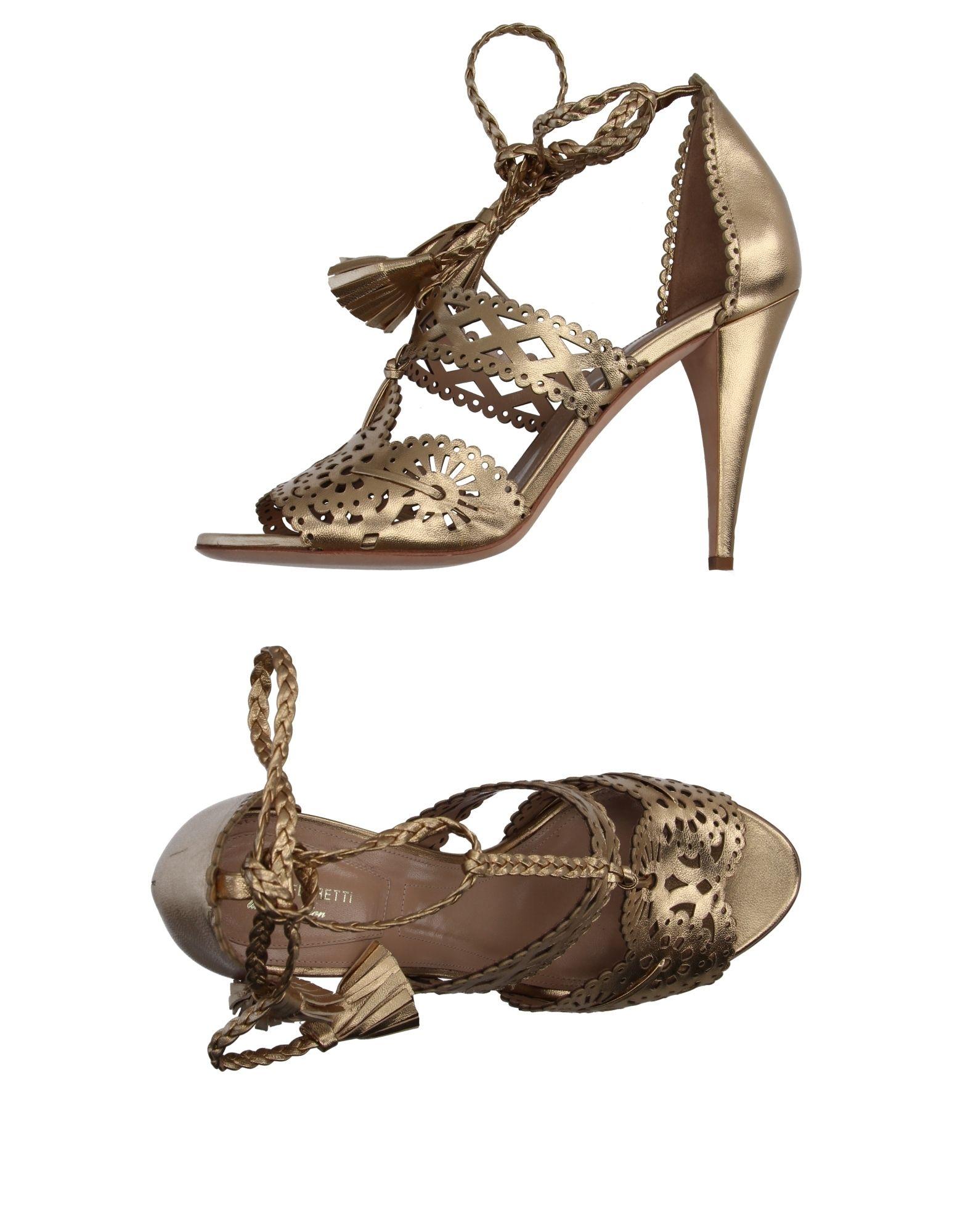 Alberta Ferretti Sandalen Damen  Schuhe 11122838WOGut aussehende strapazierfähige Schuhe  bd1dc4