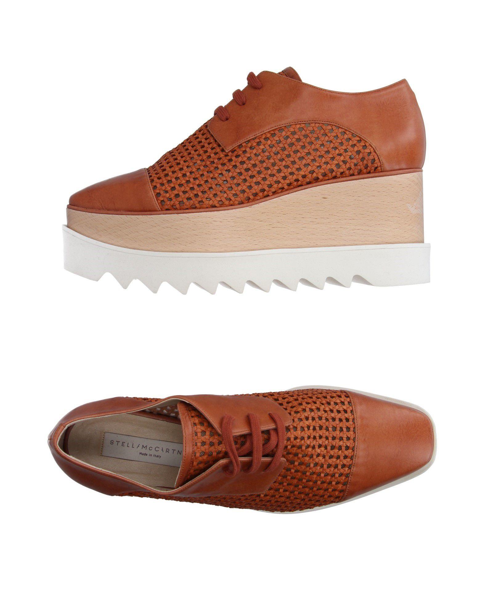 Tiempo limitado especial Zapato De Cordones Stella Mccartney Mujer Mujer Mccartney - Zapatos De Cordones Stella Mccartney  Marrón 550be2