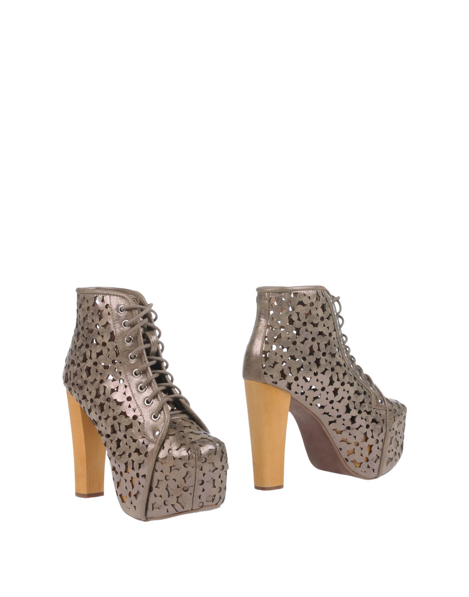 Gut um billige Schuhe zu tragenJeffrey Campbell Stiefelette Damen  11125971UR