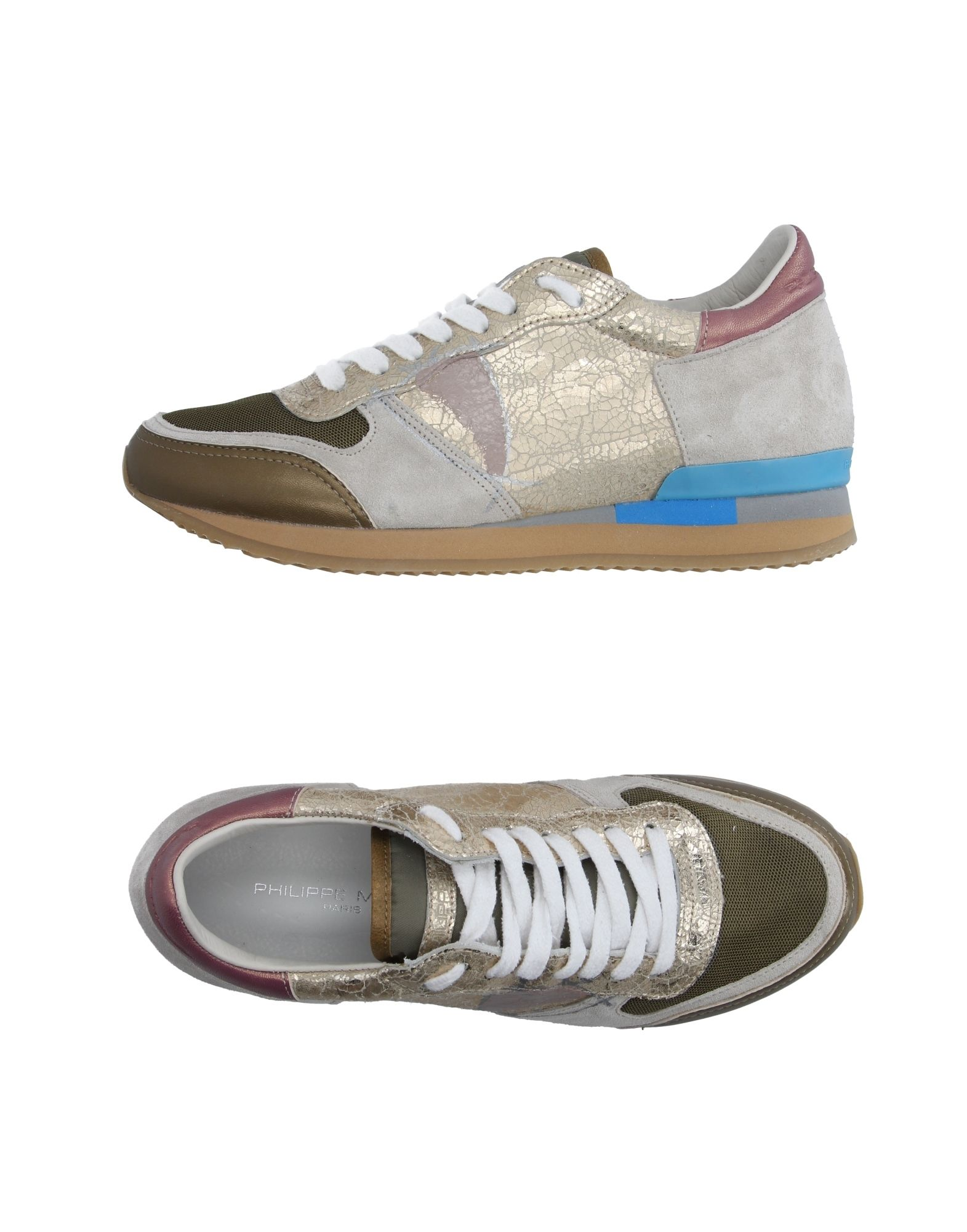 Philippe Model aussehende Sneakers Damen  11127930XEGut aussehende Model strapazierfähige Schuhe 190767