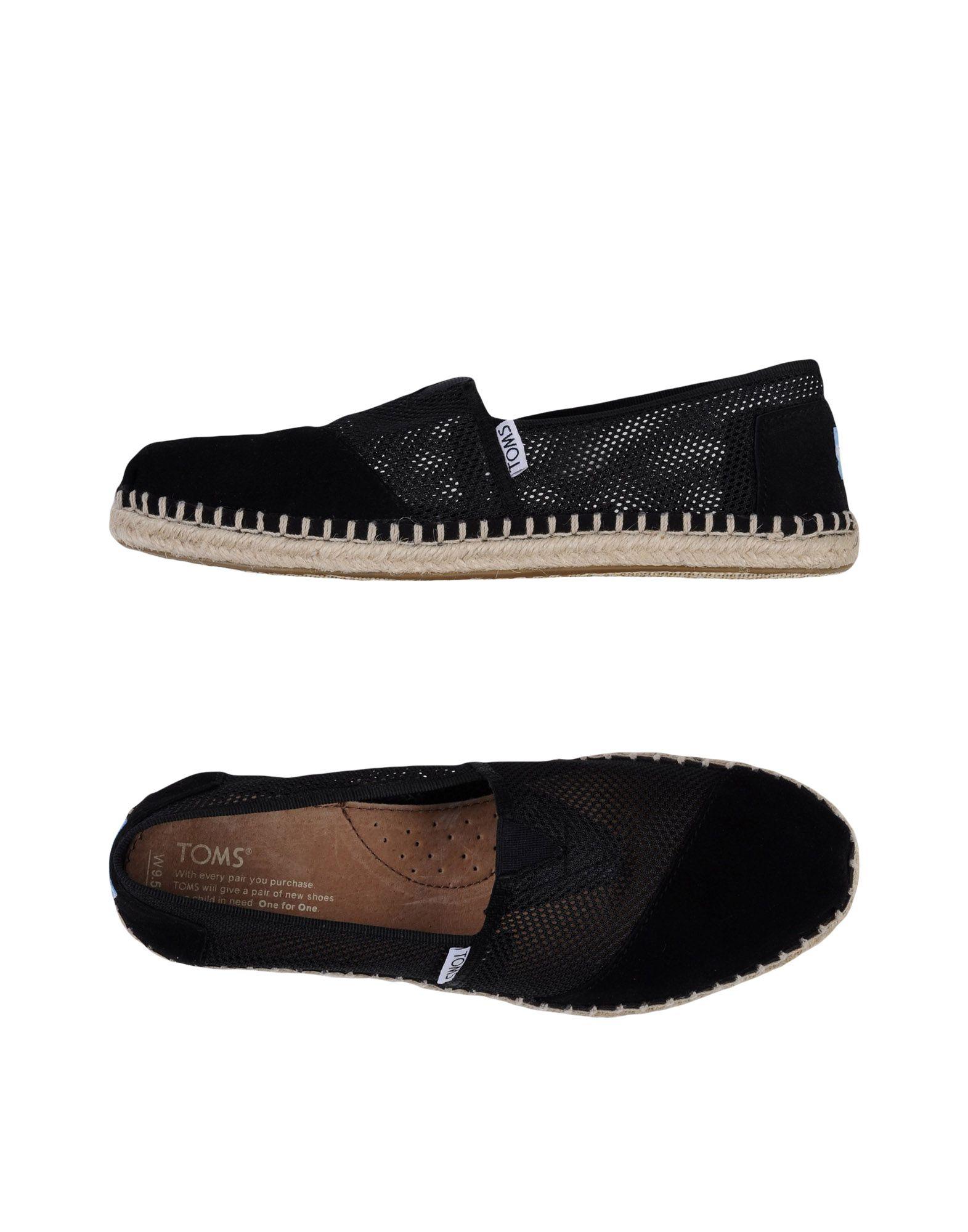 lowest price ae939 64274 TOMS Espadrilles - Footwear   YOOX.COM