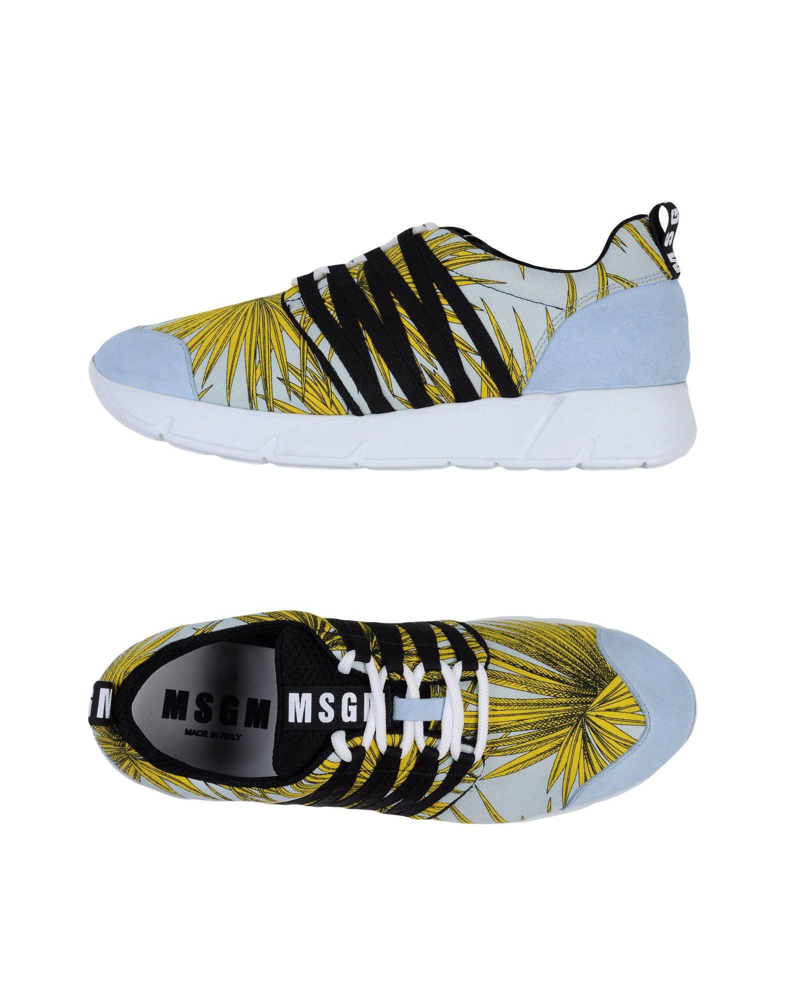 Msgm Sneakers Damen  11129175WQGut aussehende strapazierfähige Schuhe