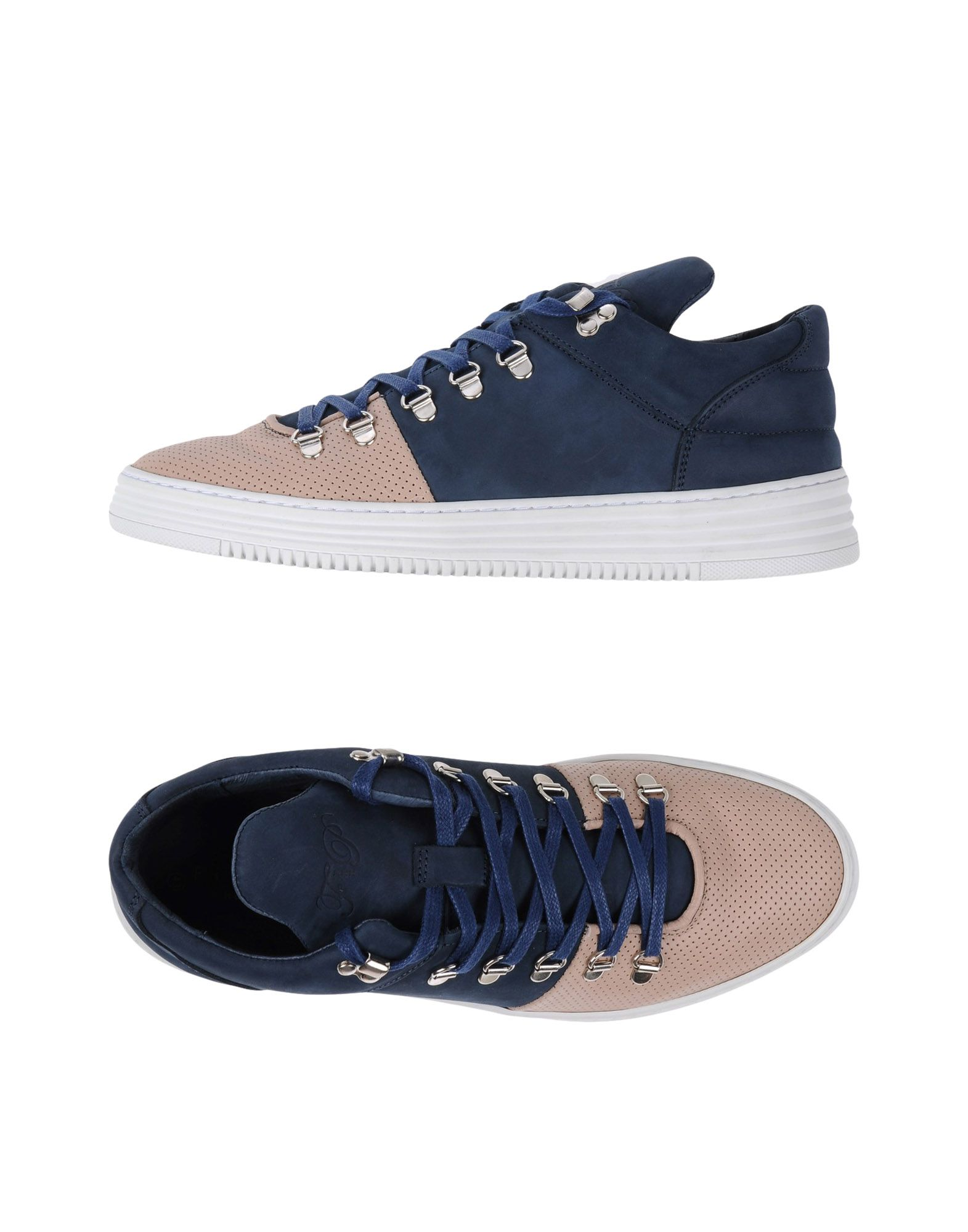 Sneakers Filling Pieces Homme - Sneakers Filling Pieces  Bleu foncé Super rabais