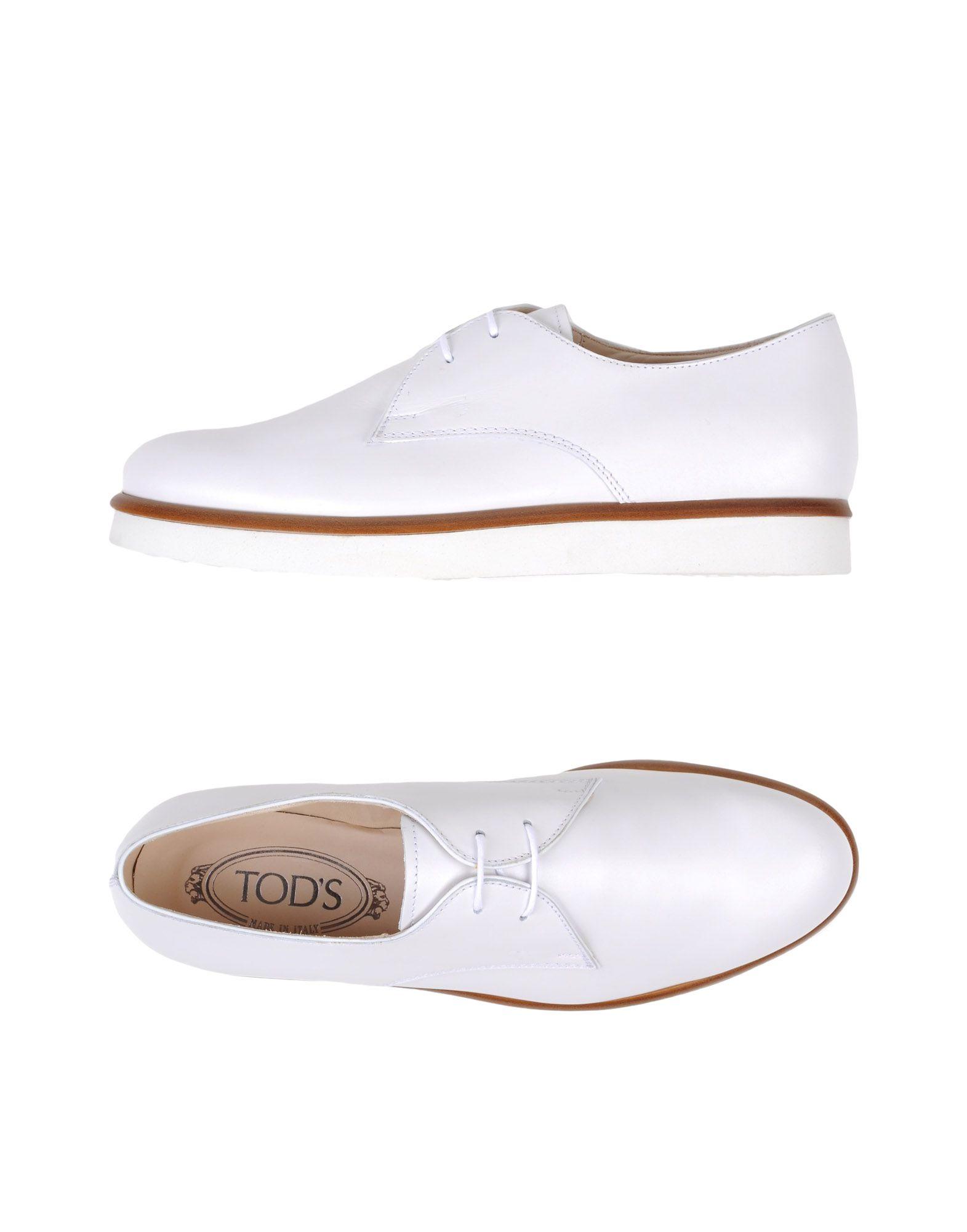 Rabatt Schuhe  Tod's Schnürschuhe Damen  Schuhe 11130669IJ 8a4856