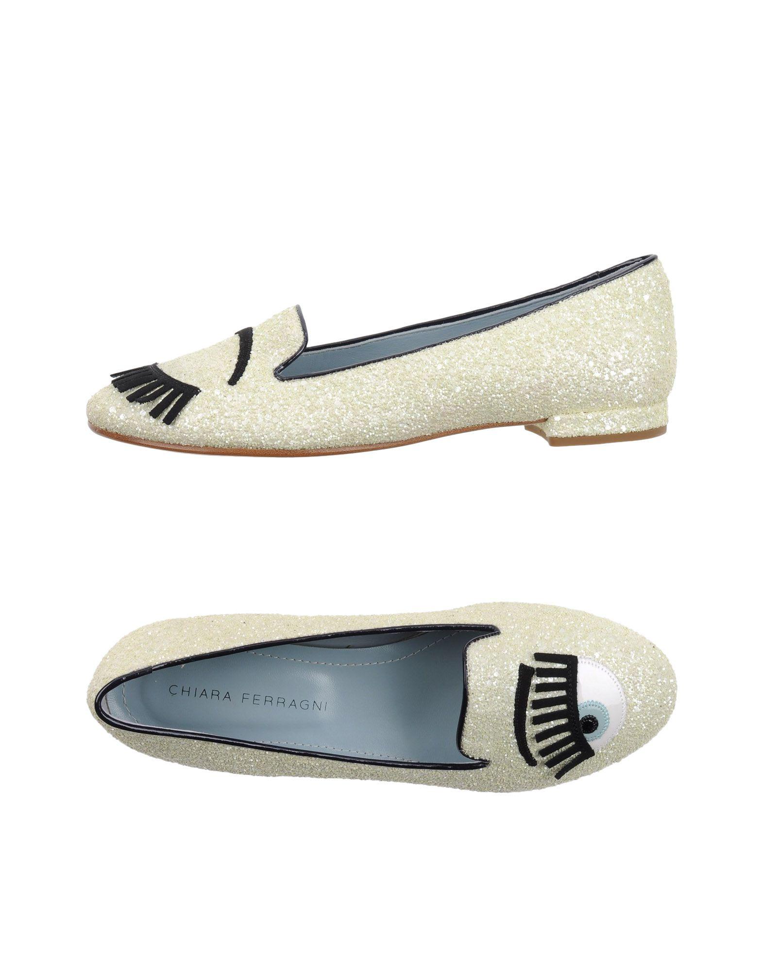 Stilvolle billige Schuhe Damen Chiara Ferragni Mokassins Damen Schuhe  11131333MA 9bd328