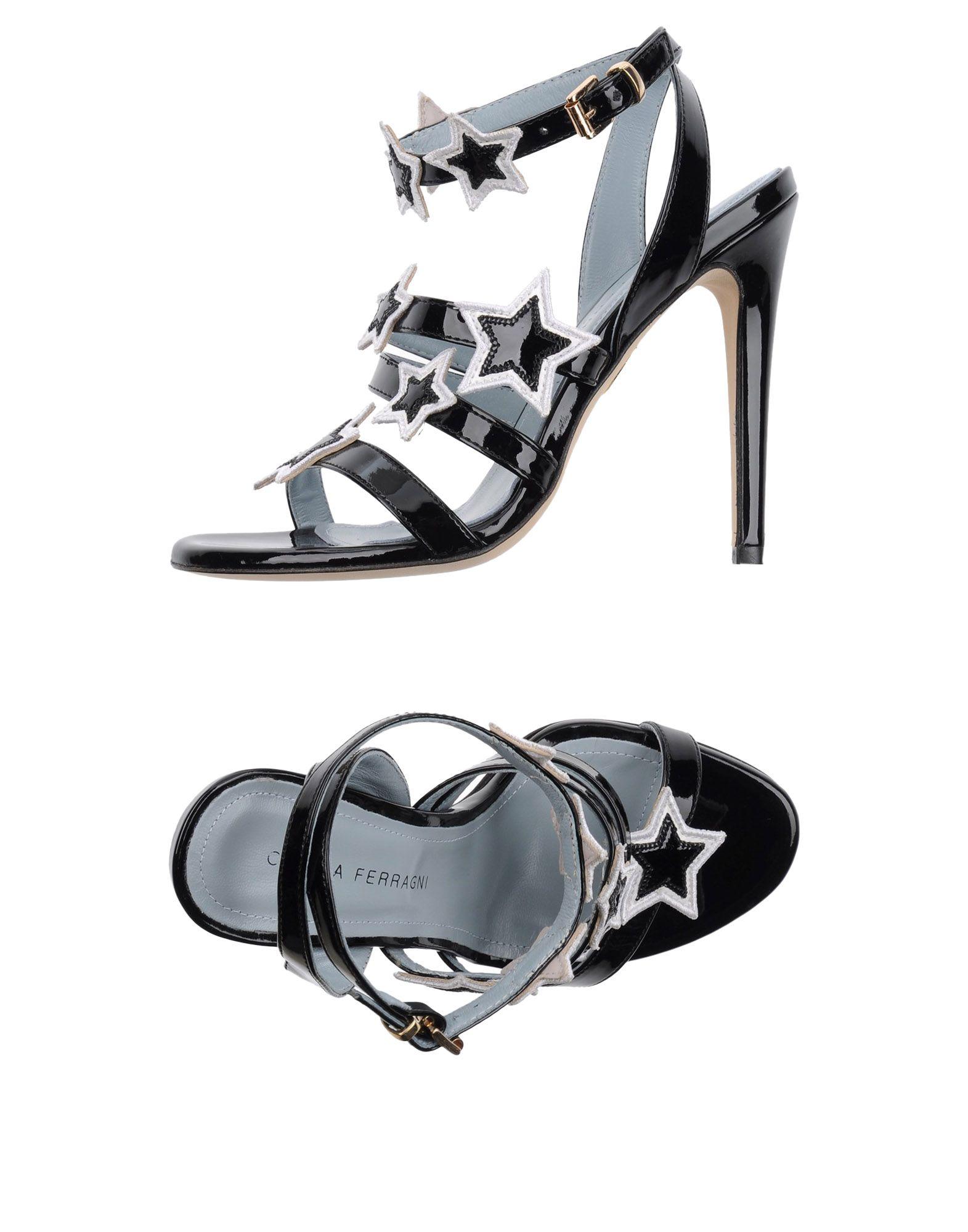 Stilvolle billige Schuhe Chiara Ferragni Sandalen Damen  11131388SP