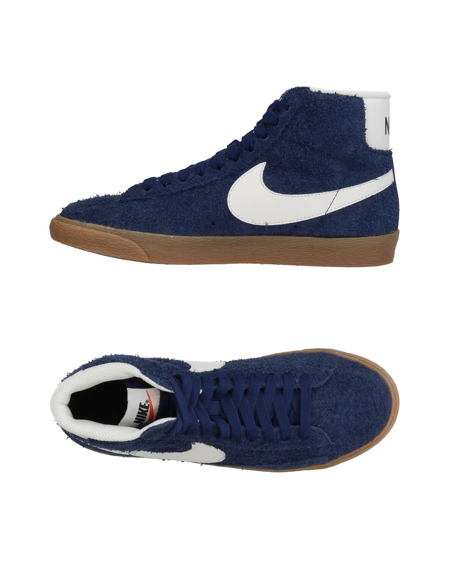 Baskets Nike Femme - Baskets Nike Bleu foncé Nouvelles chaussures pour hommes et femmes, remise limitée dans le temps